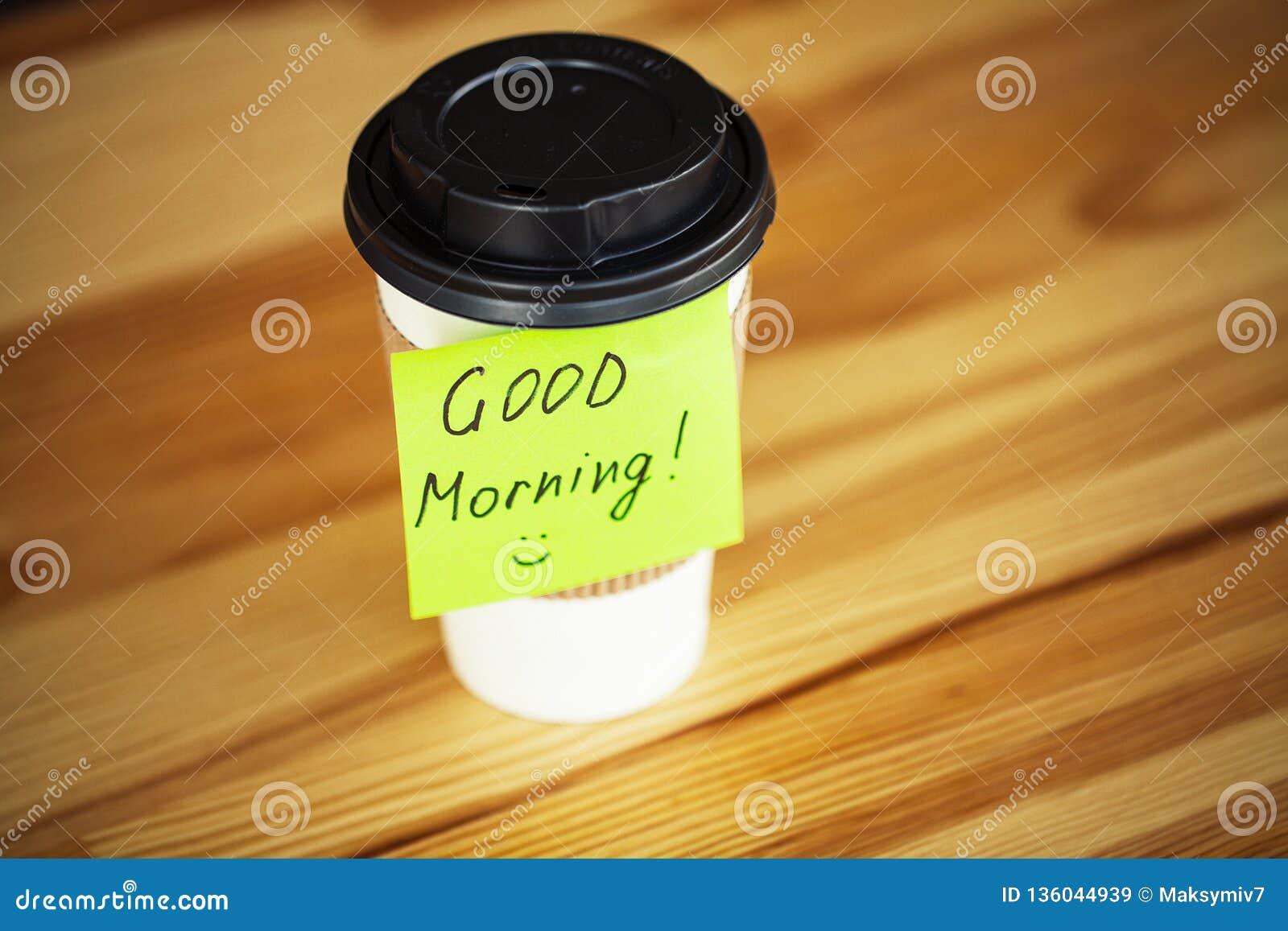 Guten Morgen Kaffee Und Mehr Stockbild Bild Von Espresso