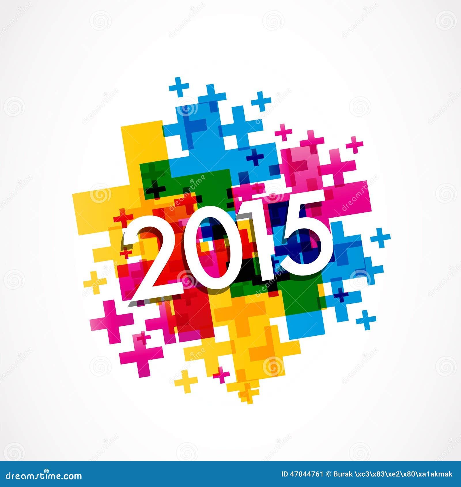 2015 guten rutsch ins neue jahr abstrakter hintergrund