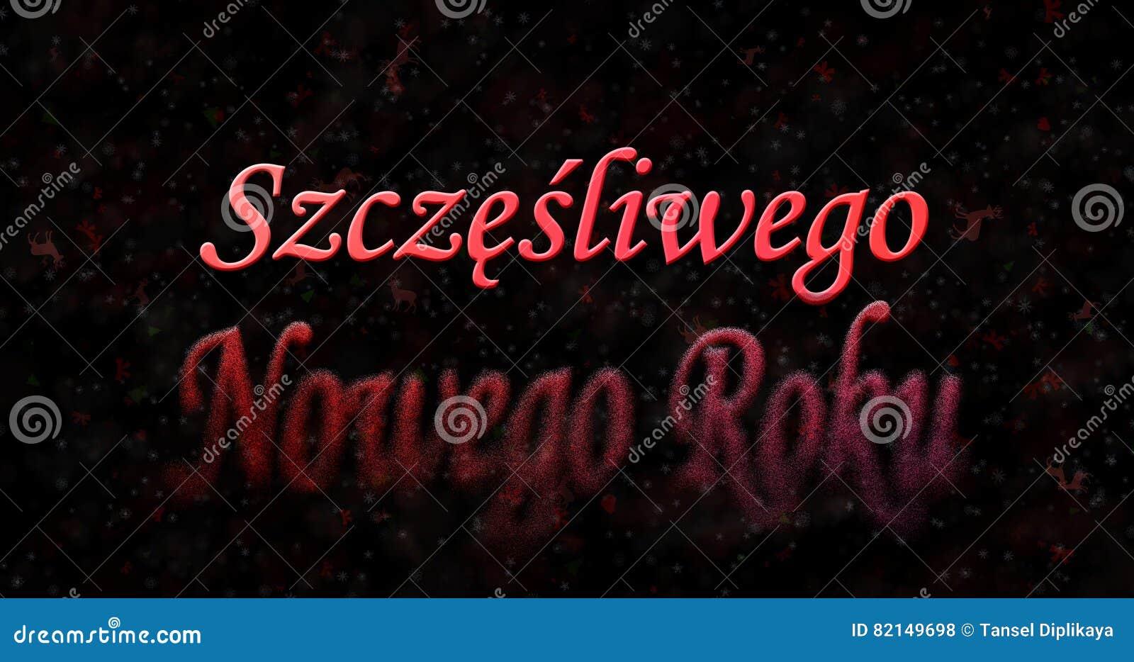 Polnisch frohe weihnachten guten rutsch ins neue jahr