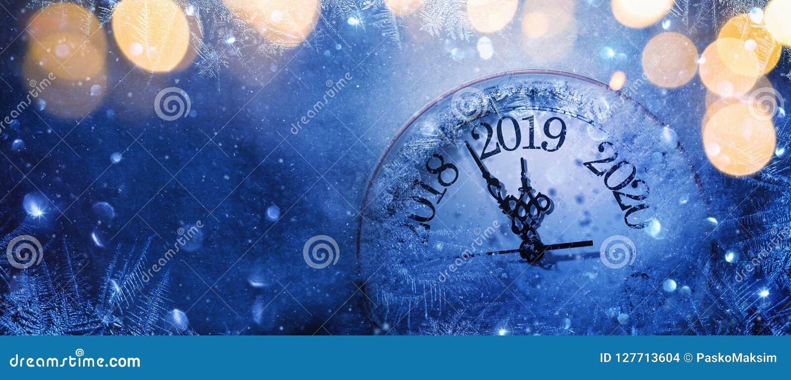 Guten Rutsch ins Neue Jahr 2019 Winterfeier