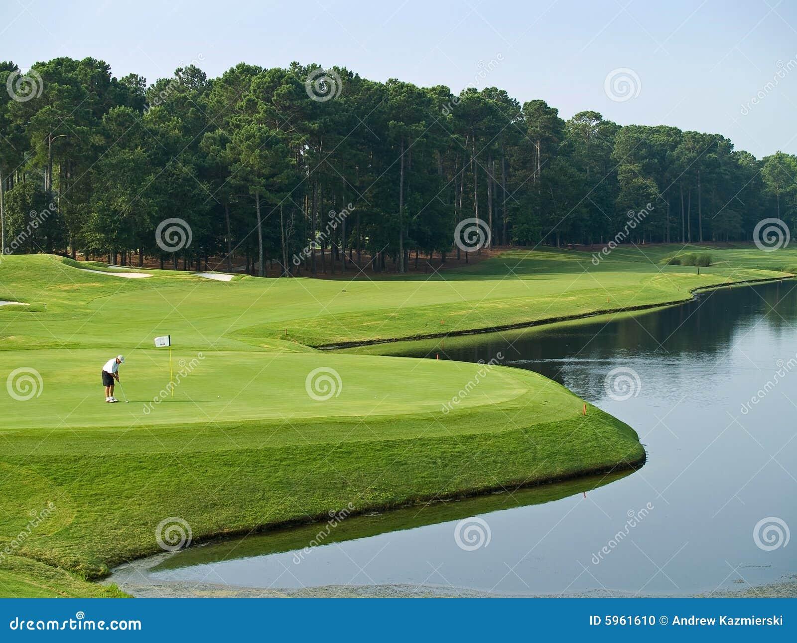 Guter Golf-Tag