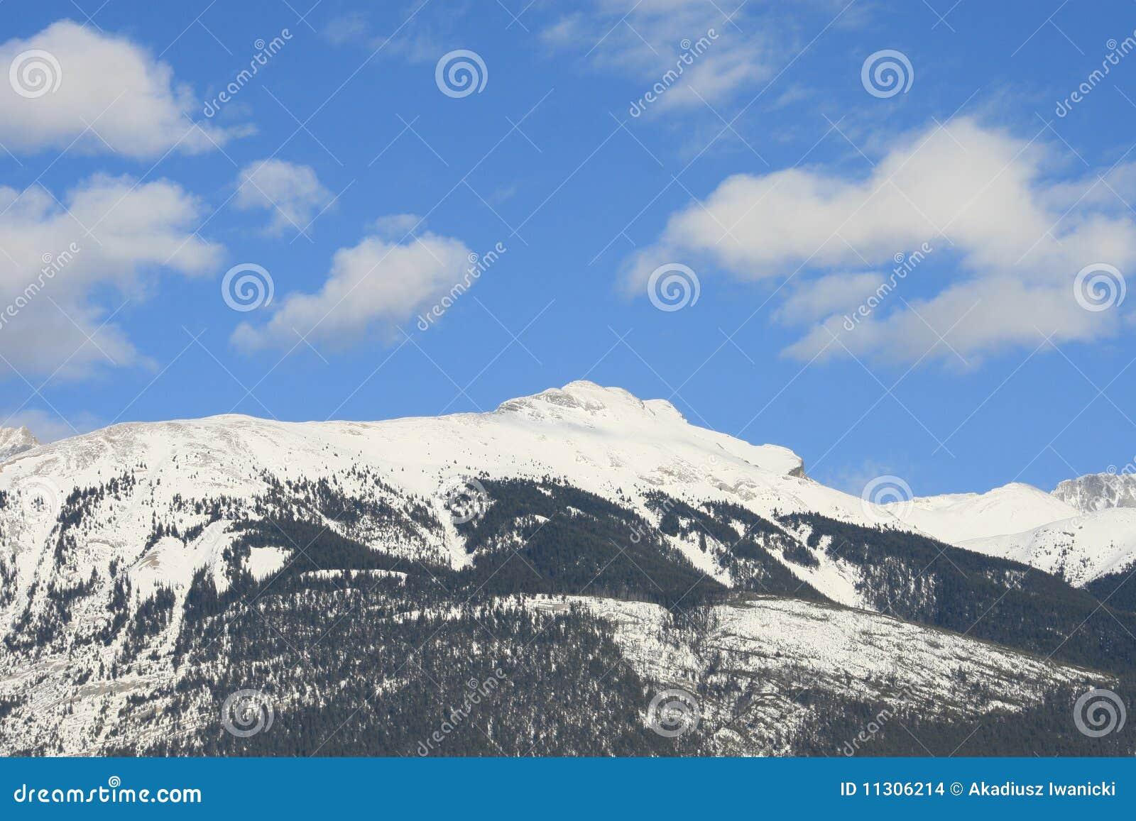 Gutes Wetter in kanadischen Rockies