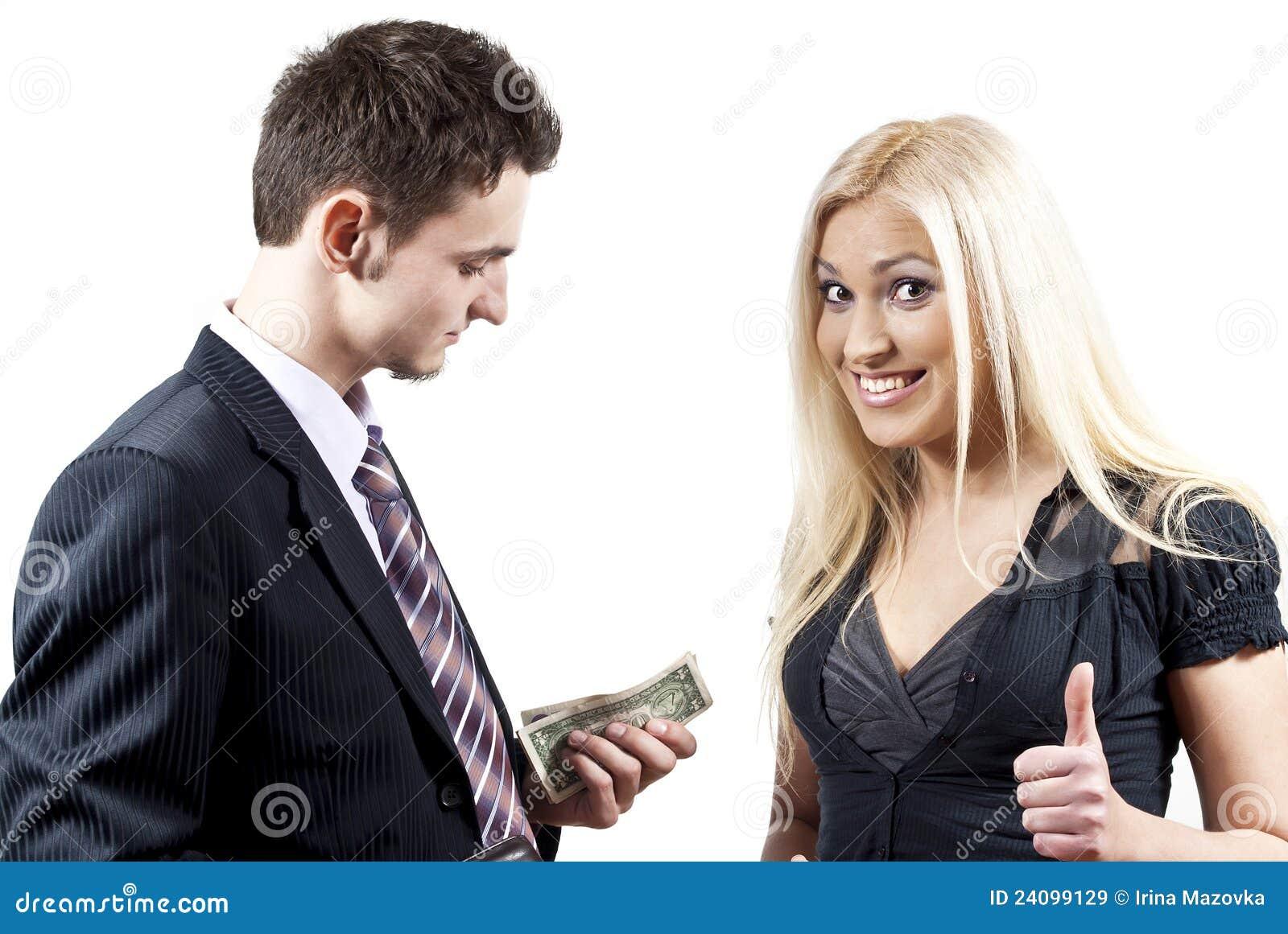 не знакомая девушка просить деньги в долг