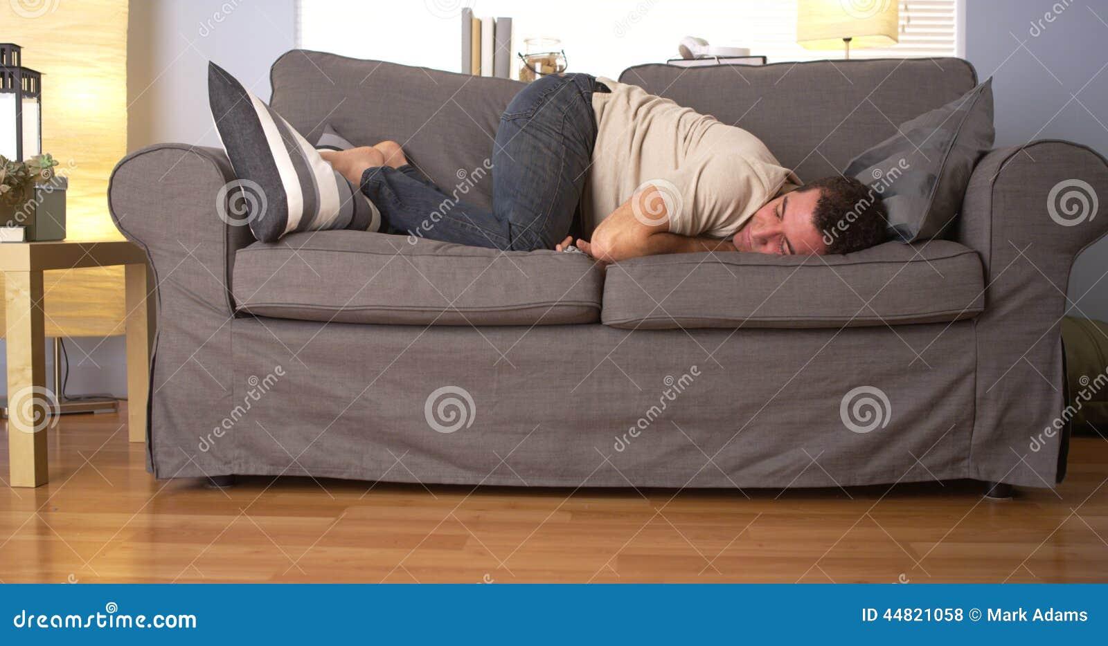 Phenomenal Guy Having Trouble Sleeping Stock Photo Image Of White Ibusinesslaw Wood Chair Design Ideas Ibusinesslaworg