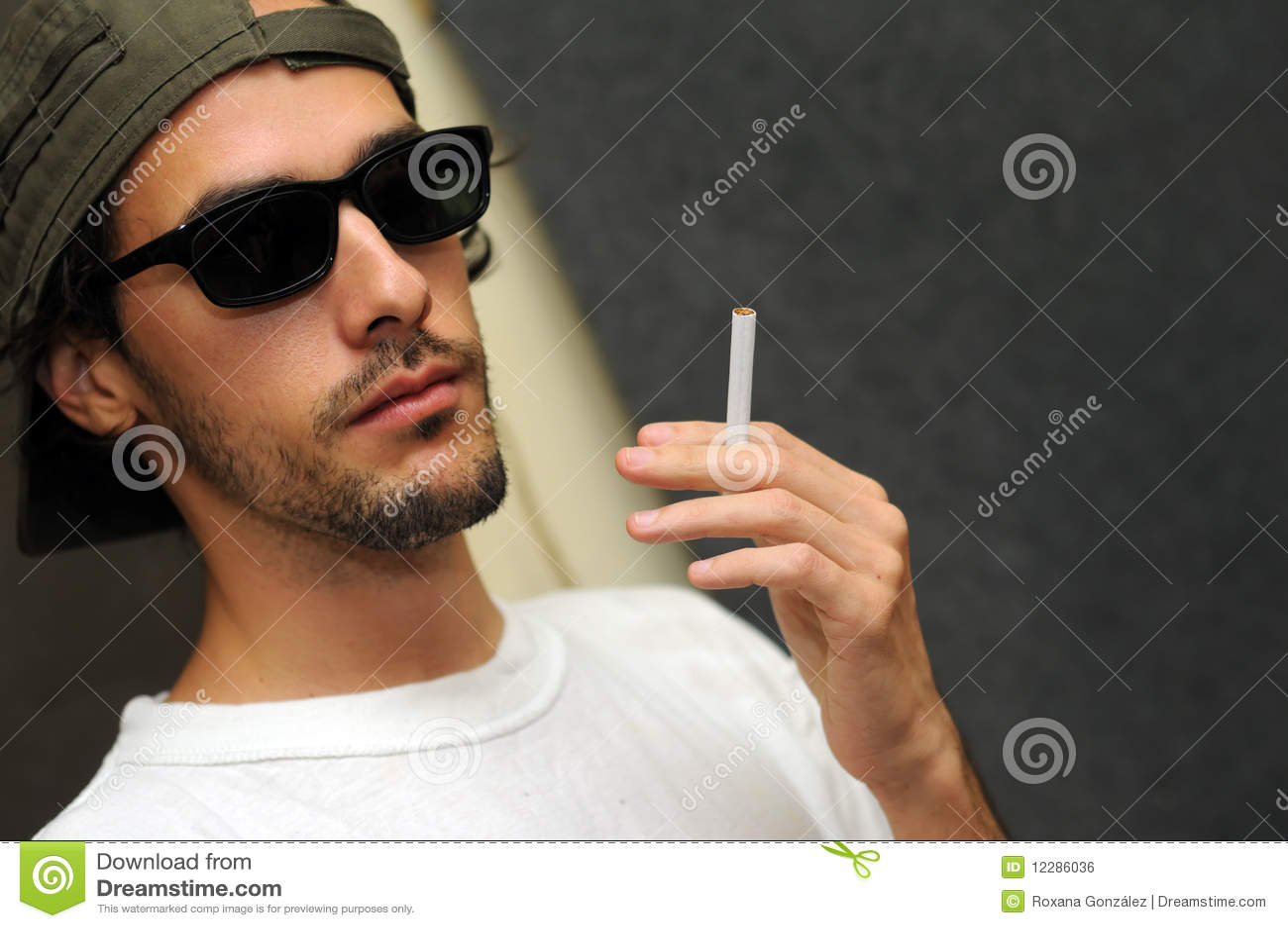 Guy Holding Cigarette Royalty Free Stock Image - Image ... Young Businessman Fashion