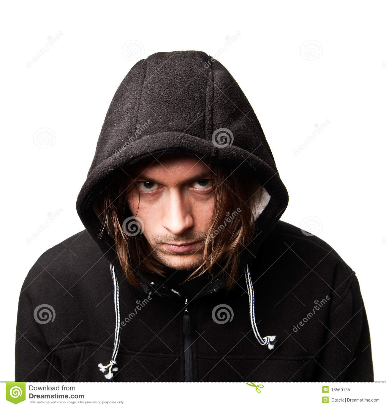 Guy in a hood