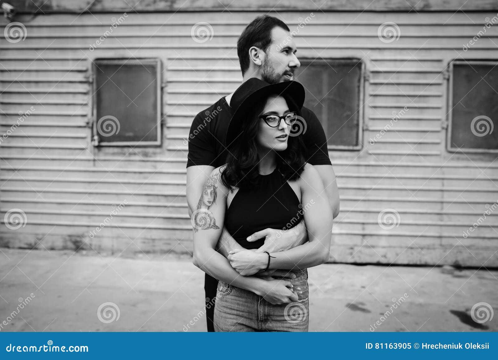 Guy hugging a girl