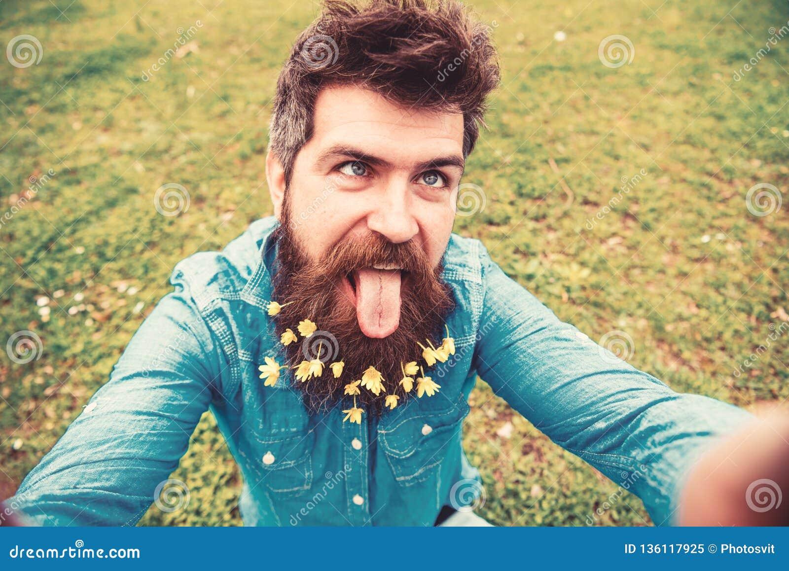 Beard guy selfie with This Beard