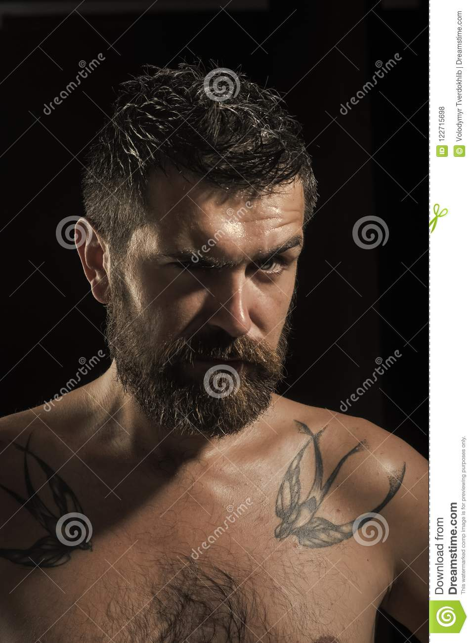 Serious face guy naked pic 440