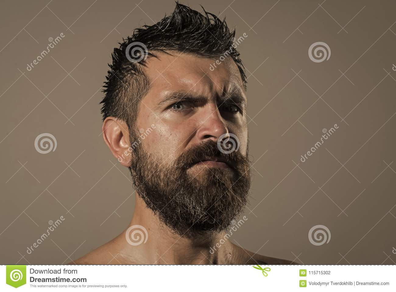 Serious face guy naked pic 636