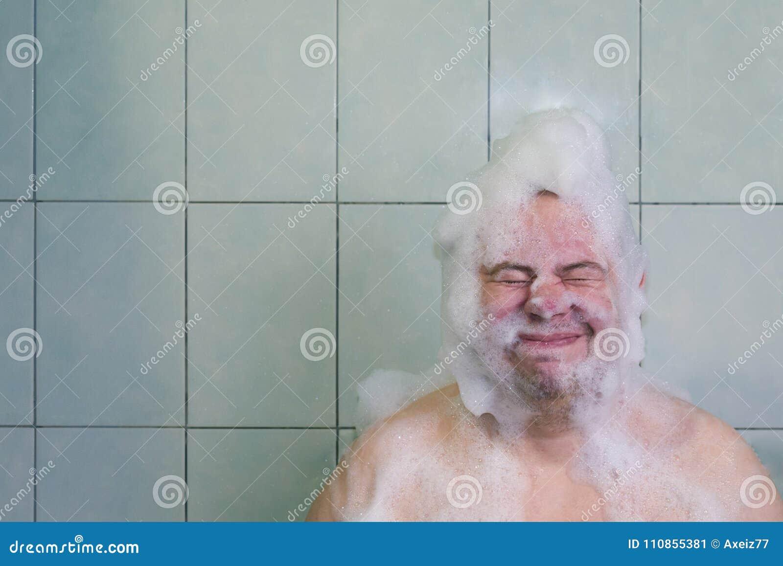 Hairy mature bathroom