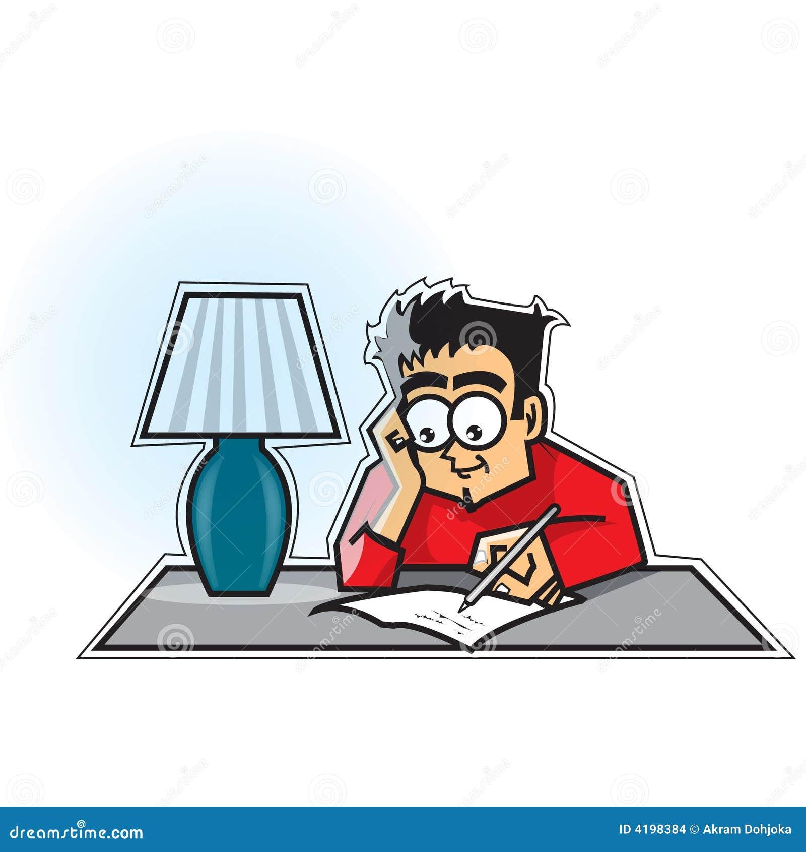 guy writing letter stock illustrations 86 guy writing letter stock illustrations vectors clipart dreamstime