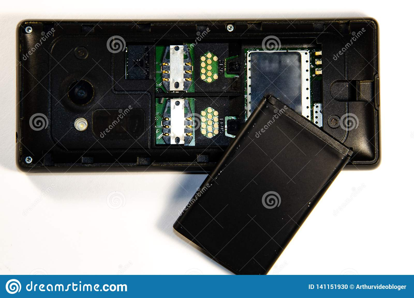 Guzika telefon, parsing, SIM karta, karta pamięci