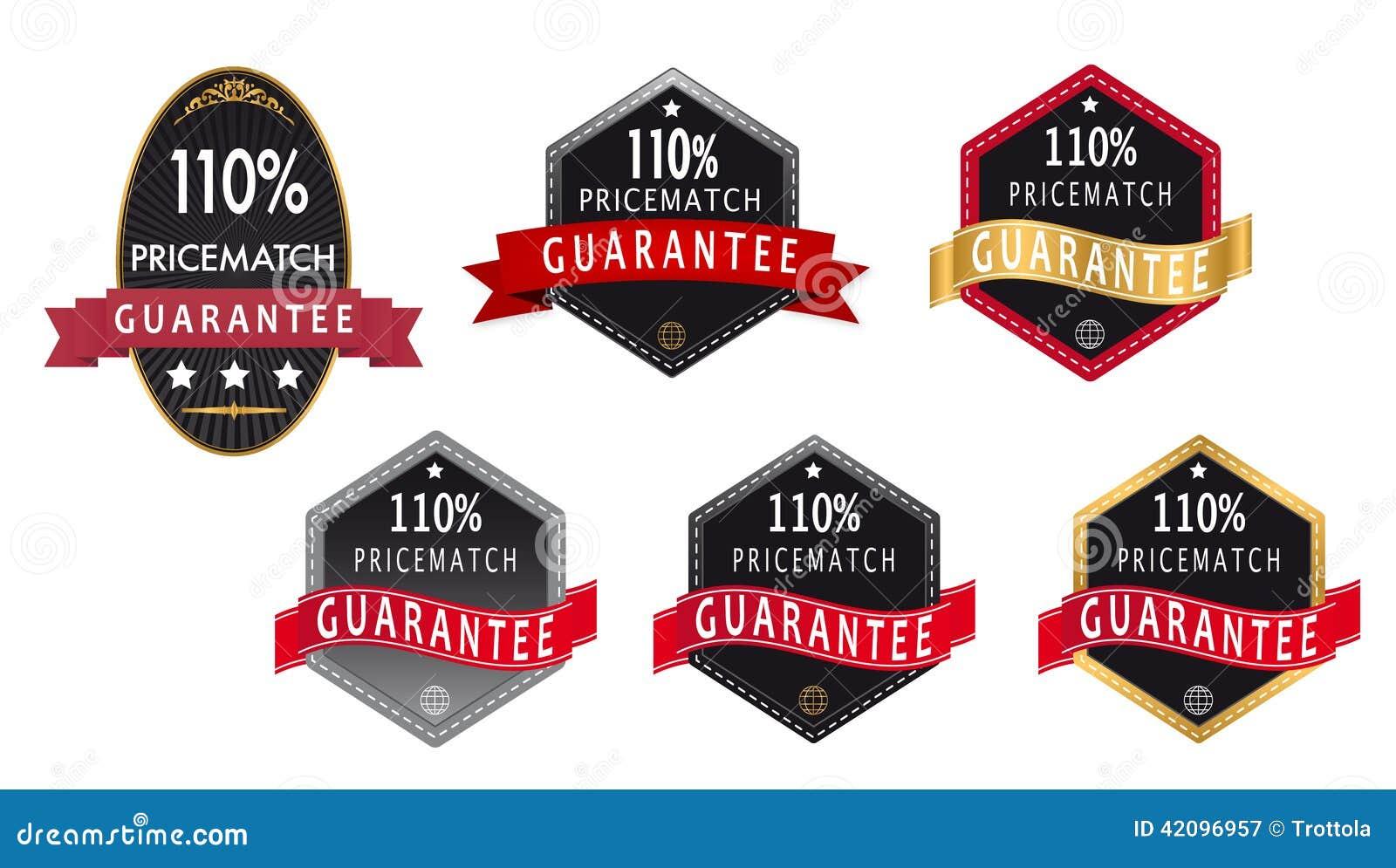 110  gwaranci ceny dopasowania etykietka