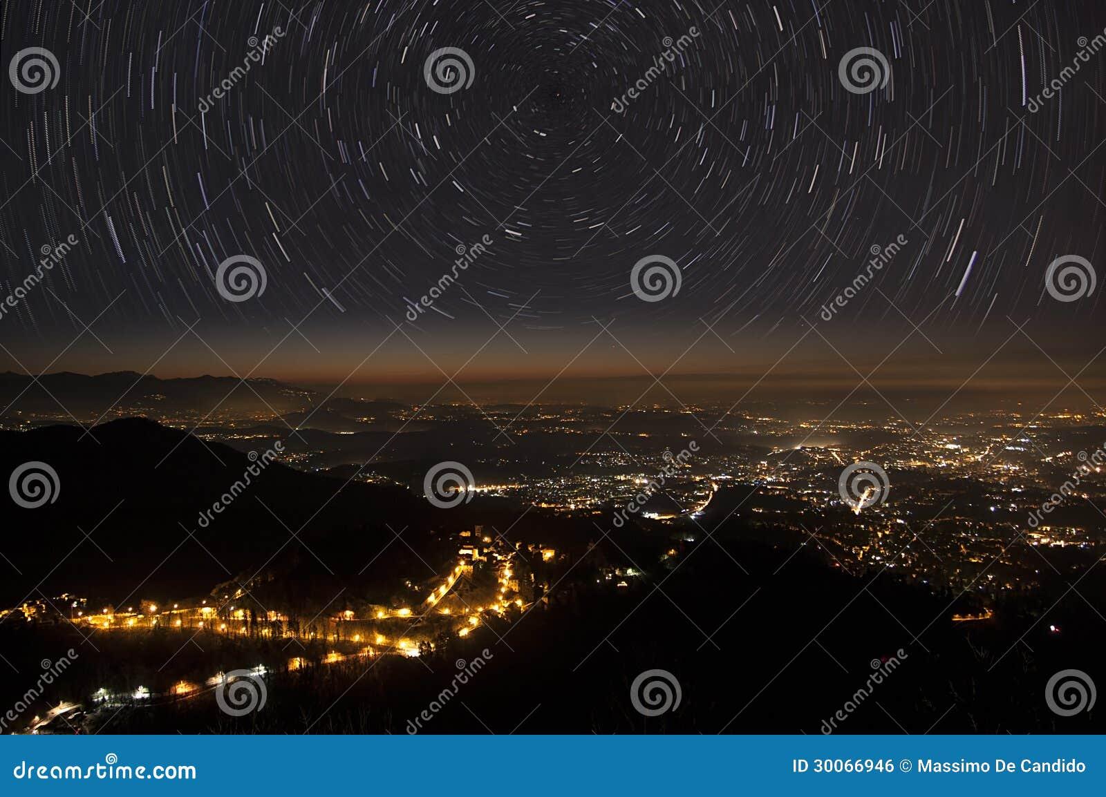 Gwiazdy miasto i ślada