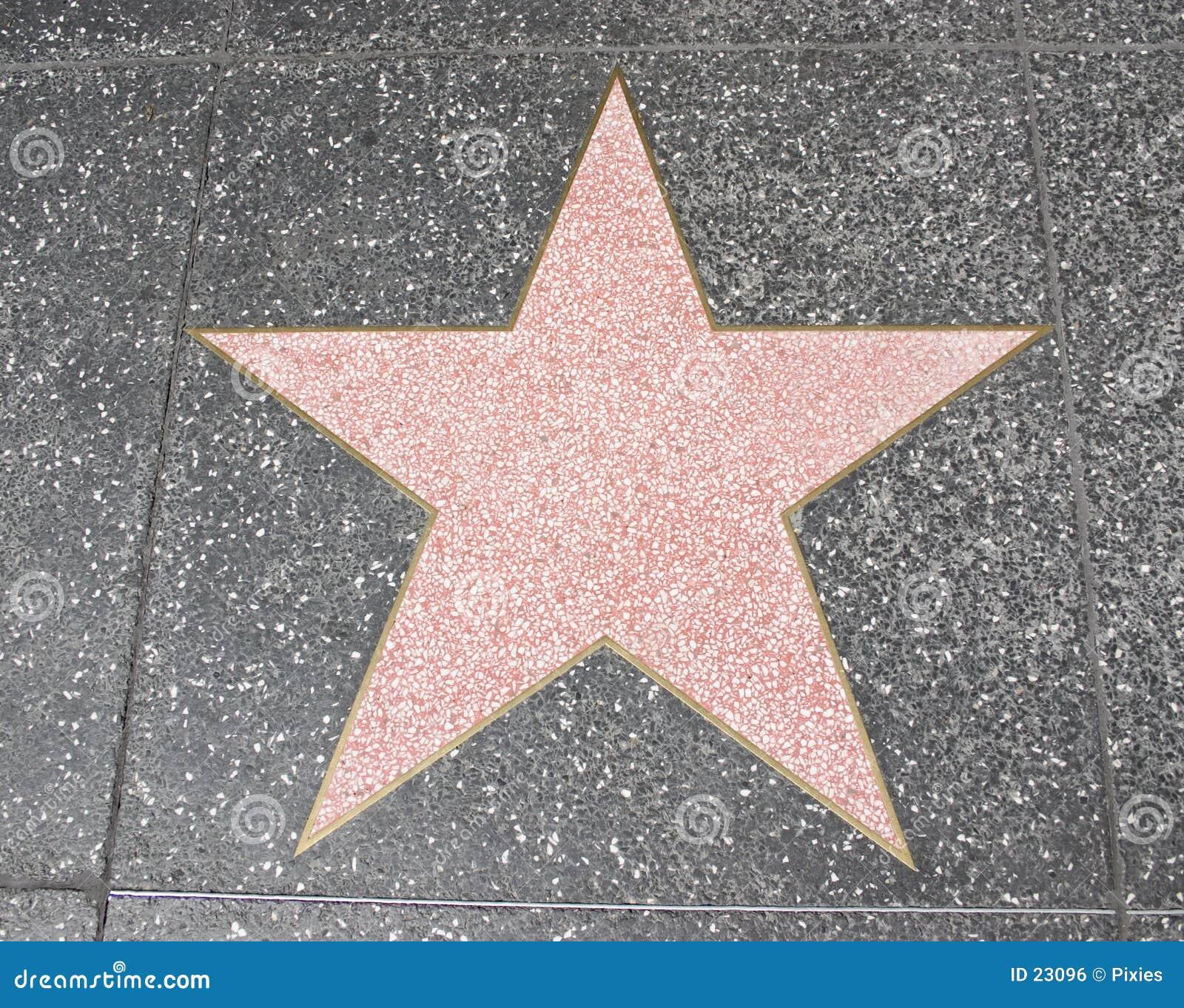 Gwiazda hollywoodu