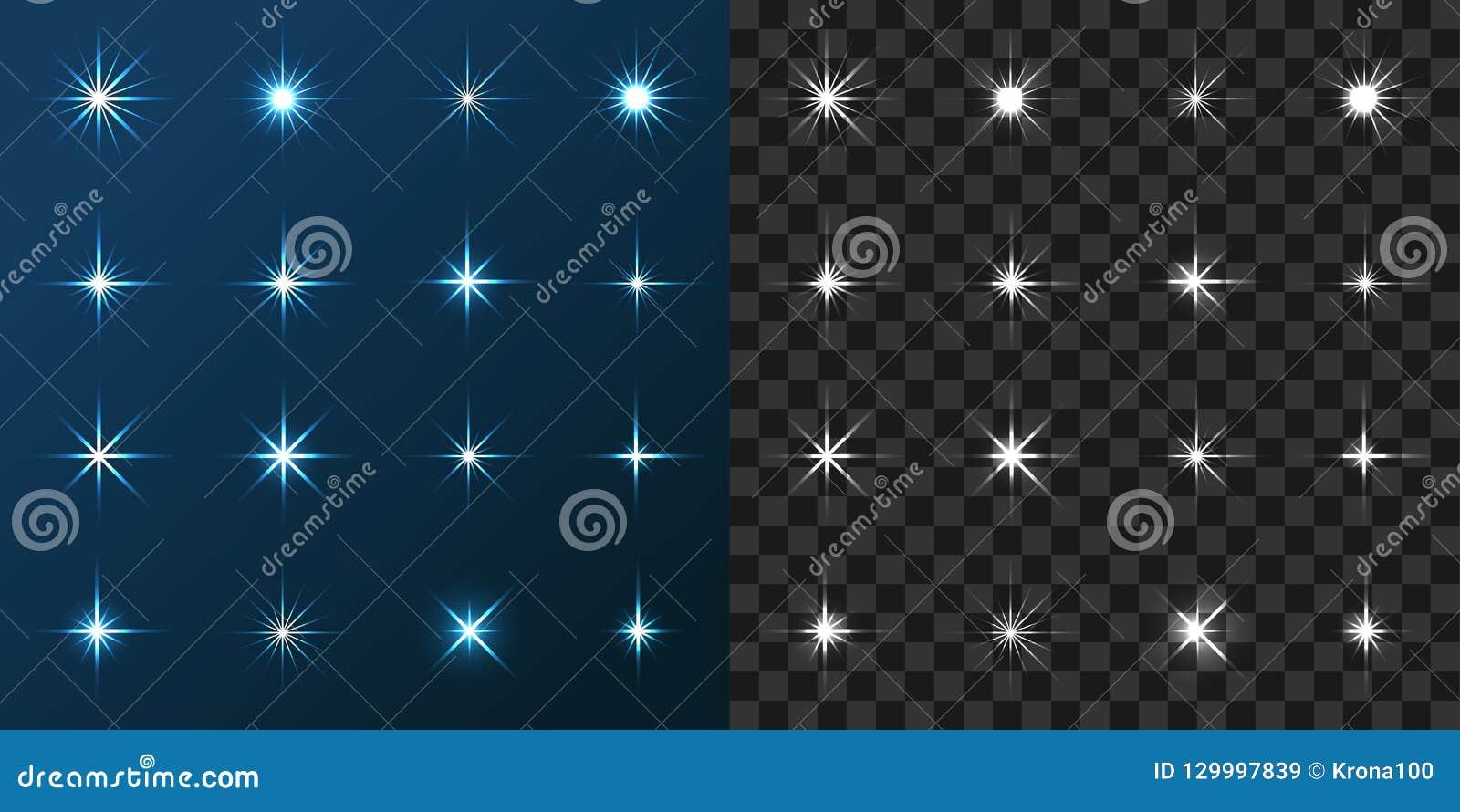 16 gwiazda Ustawiająca na Błękitnym i Szarym tle