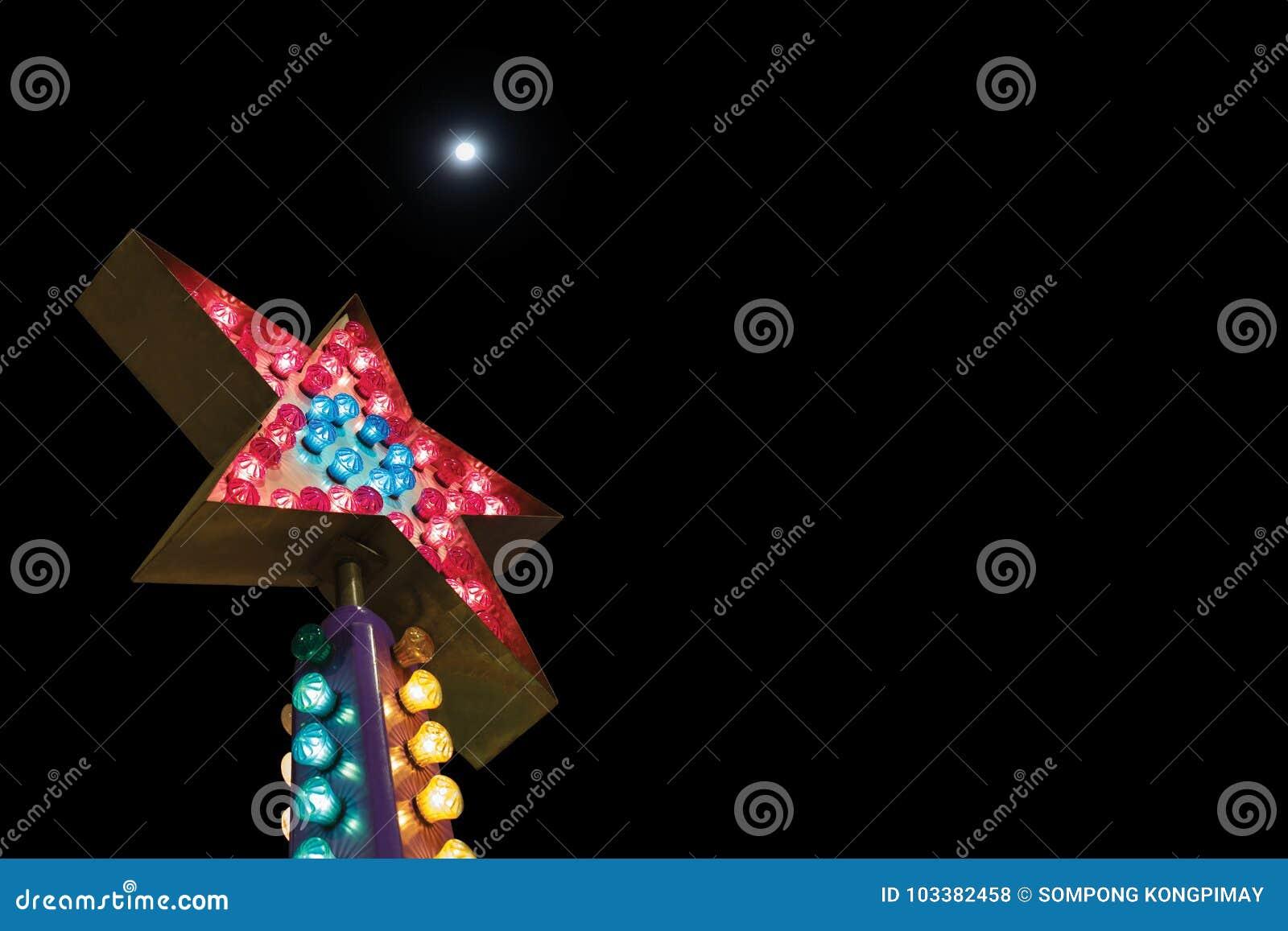 Gwiazdowa żarówka jest jeden biznesowi pojęcia, jeden gwiazda na nig