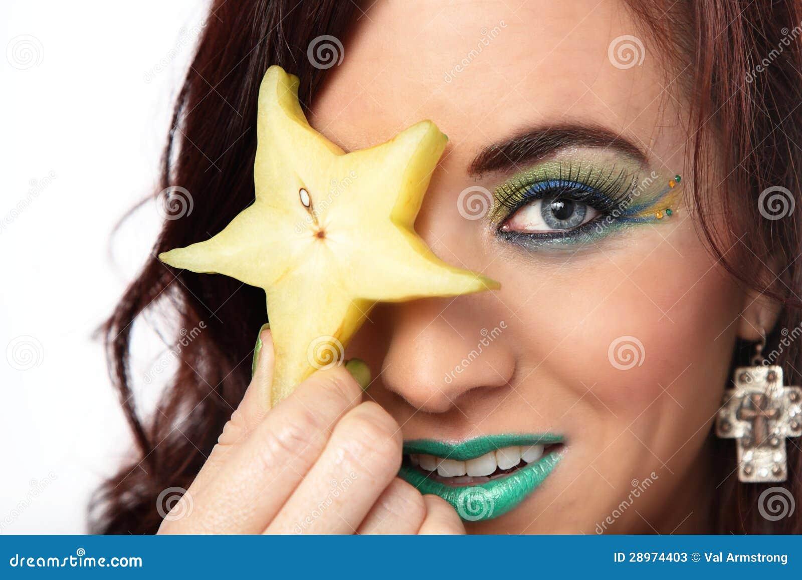 Gwiazdowej owoc oko