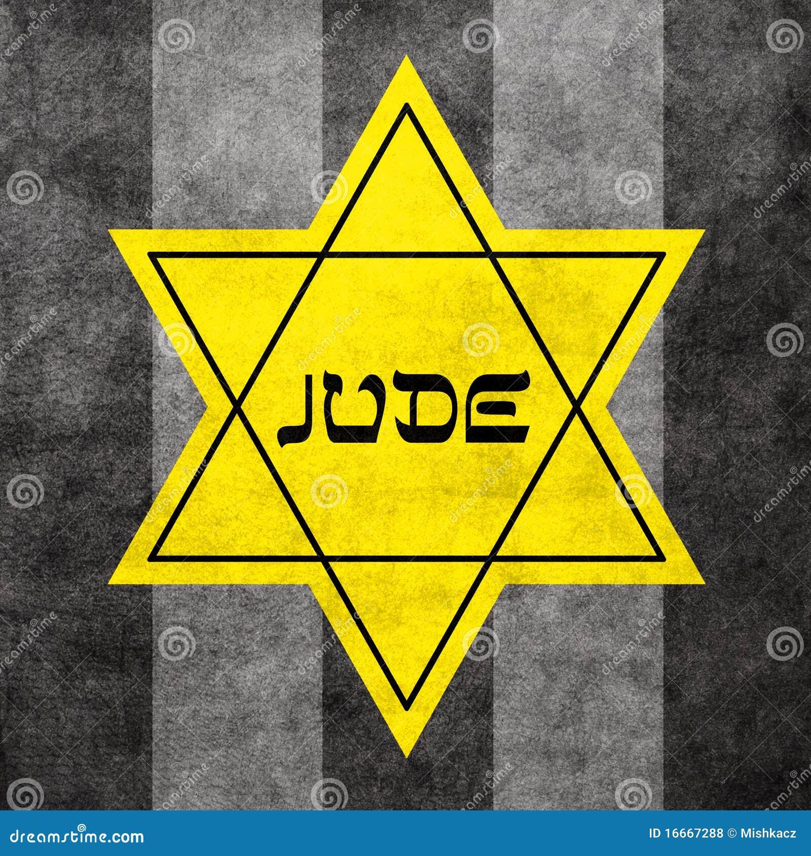 Gwiazdowy David kolor żółty