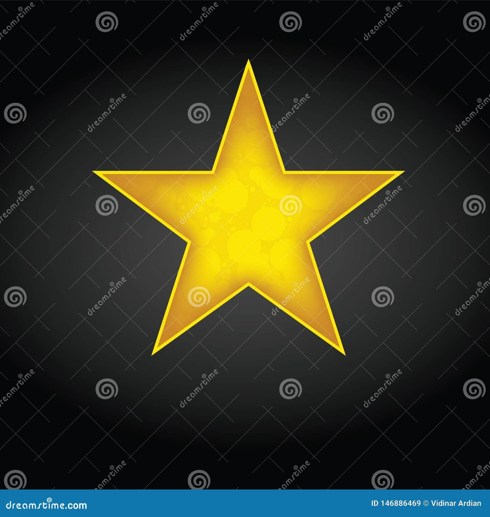Gwiazdowy ikona wektor Ratingowy symbol dla sie? projekta - wektor