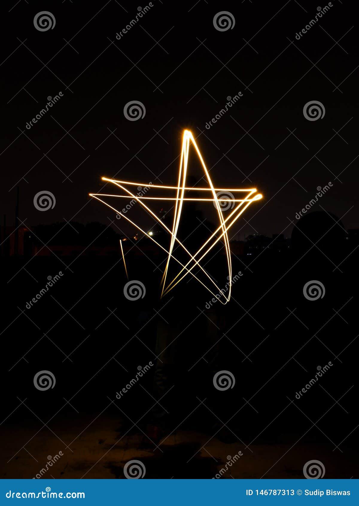 Gwiazdowy Lekki obraz