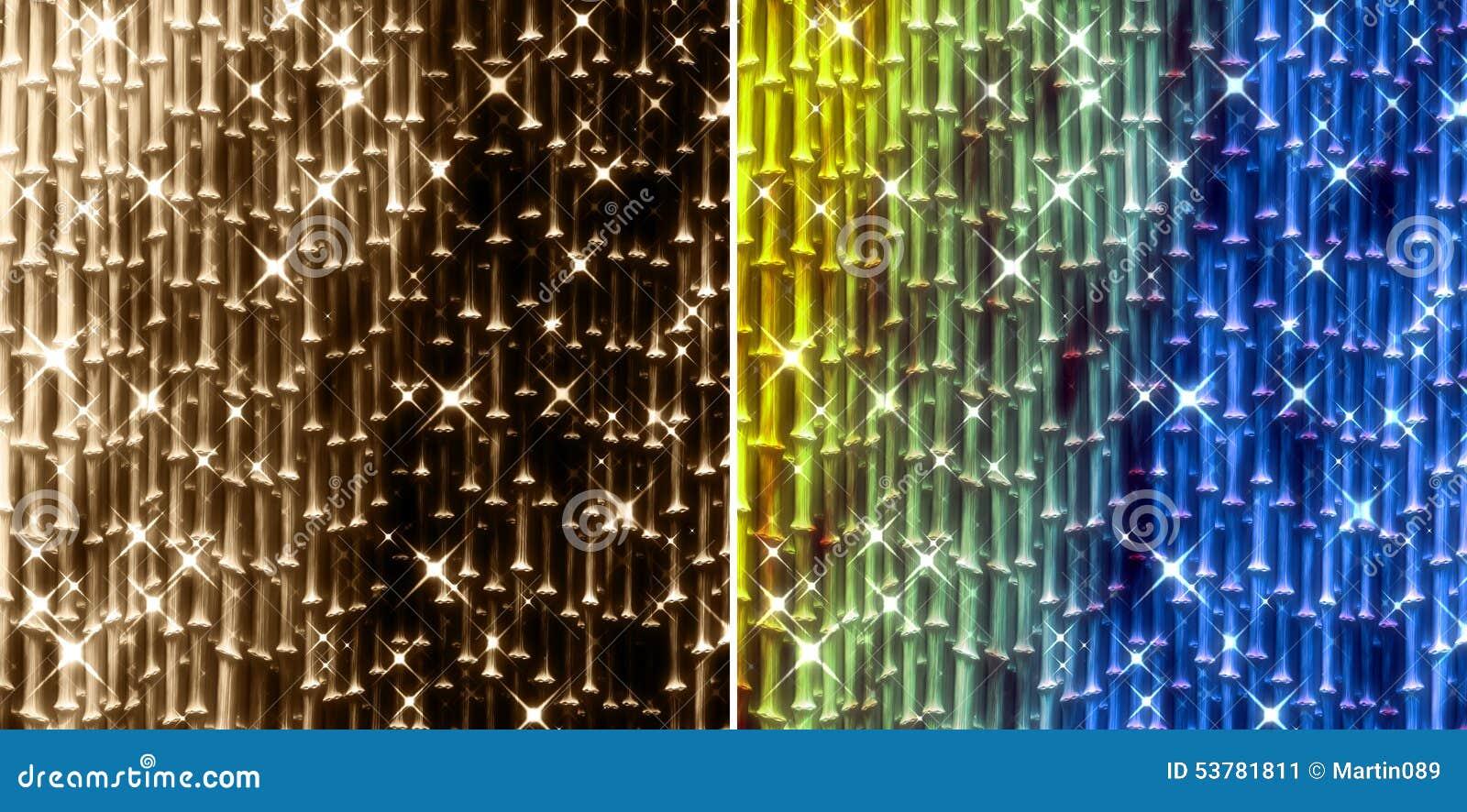 Gwiazdowy nowożytny bambusowy tło