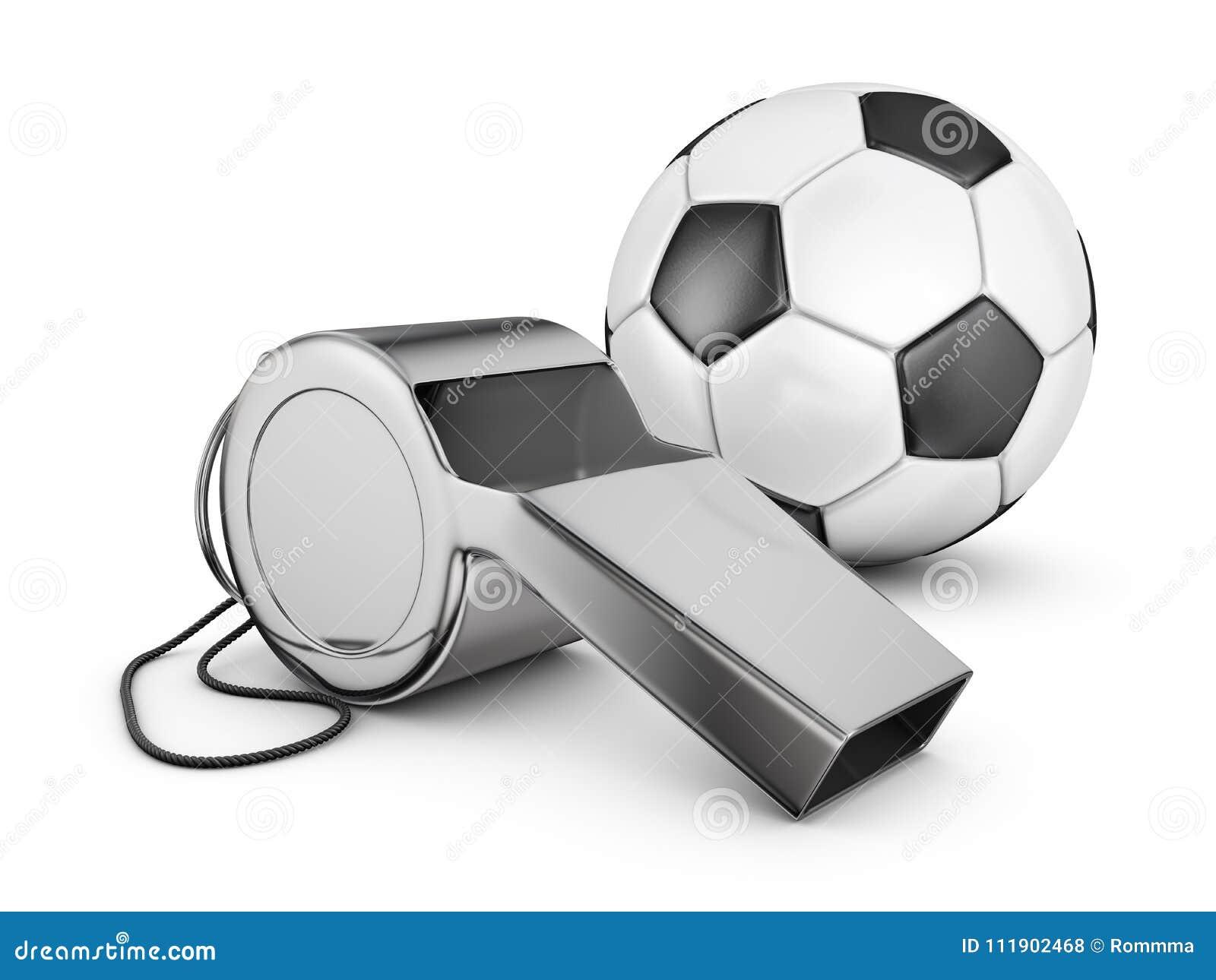 Gwizd i piłki nożnej piłka