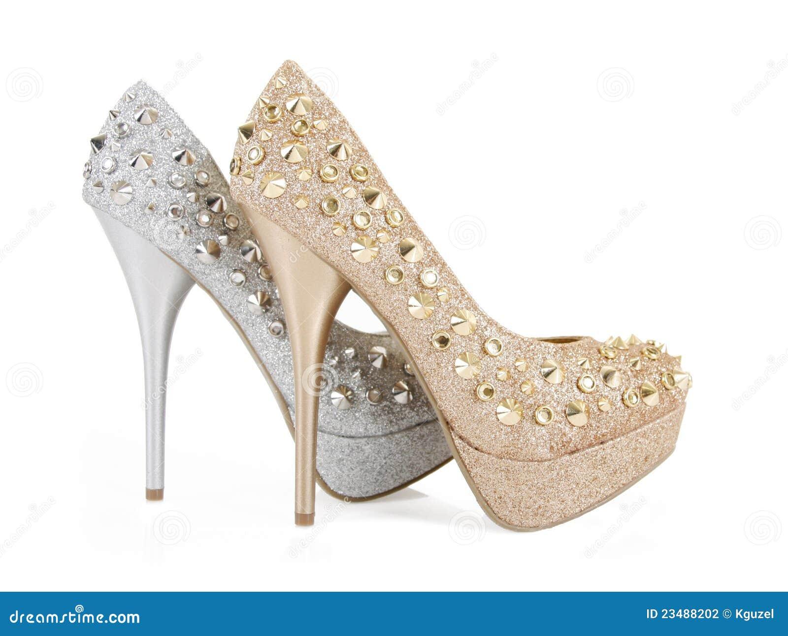Gwożdżący błyskotliwość świetlicowi buty