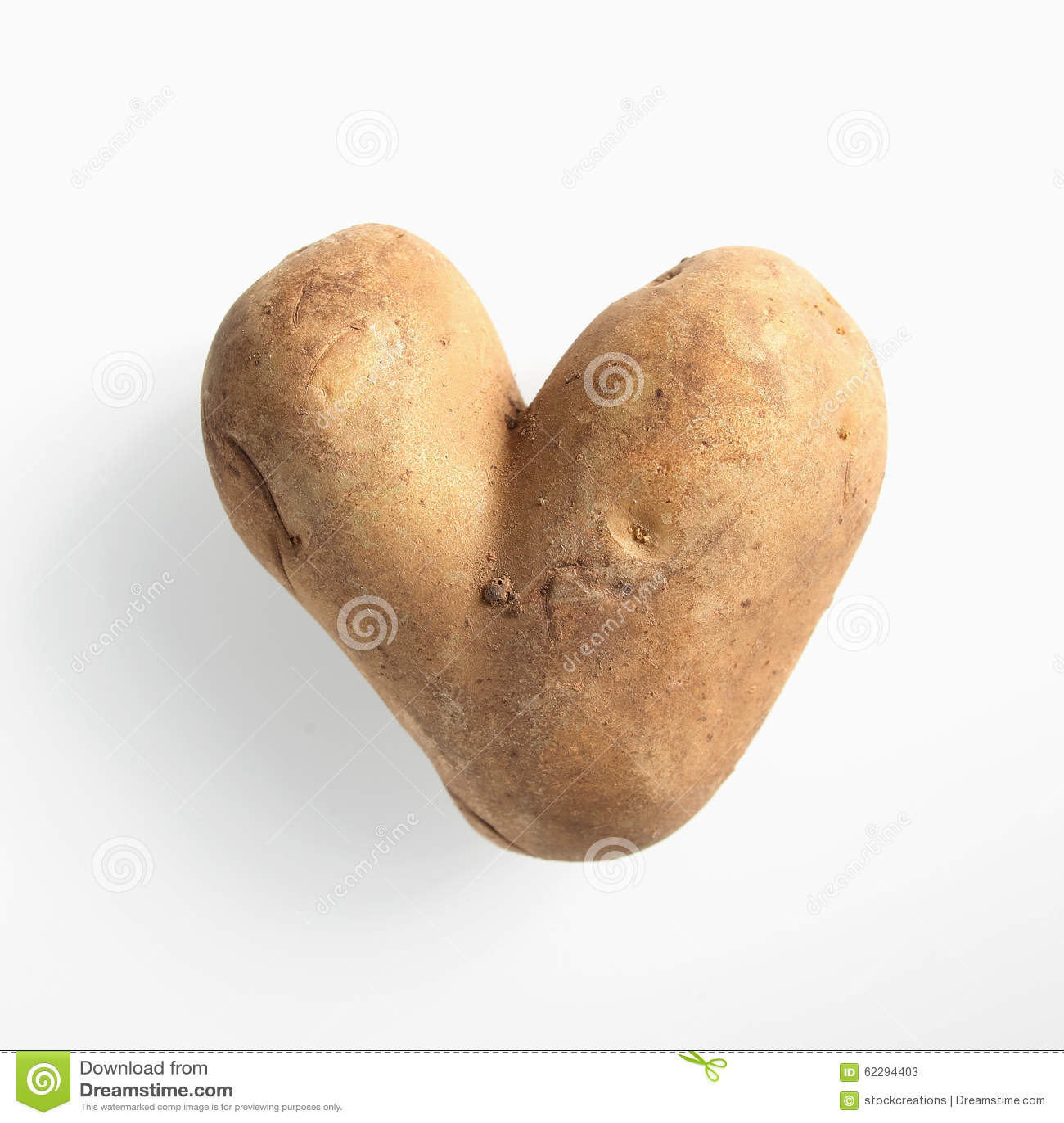 Gyckel hjärta-formad dubbel potatis