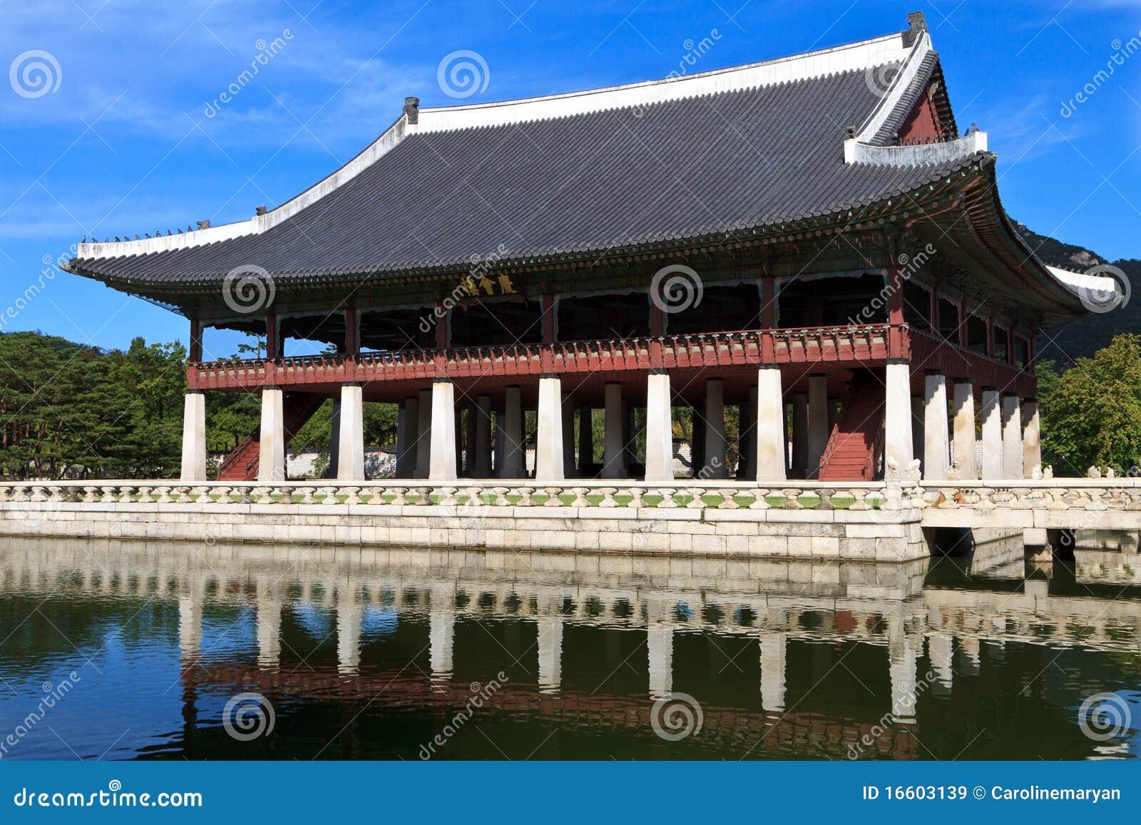 Gyeonghoeru Pavilion in Seoul, South Korea