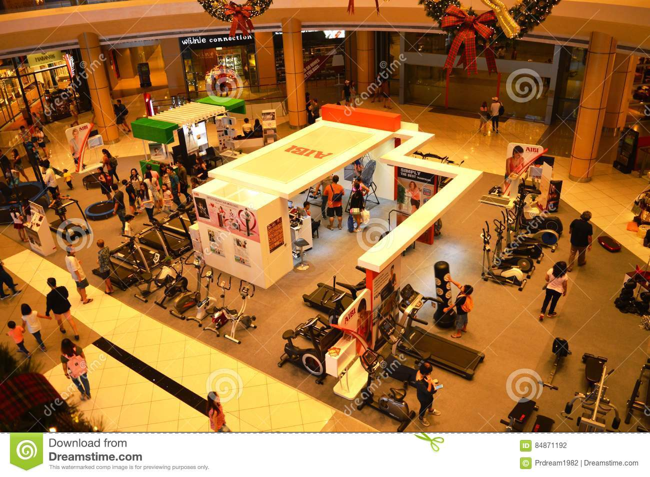 Gym Equipment`s For Sale Editorial Photography