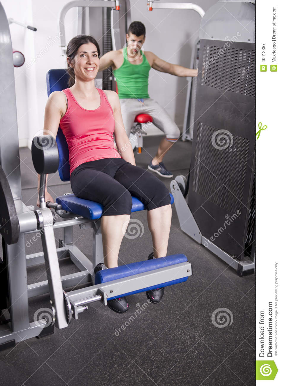 GyM People Stock Photo