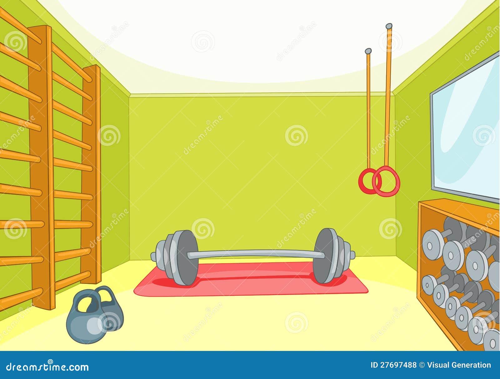 Gym room royalty free stock photos image