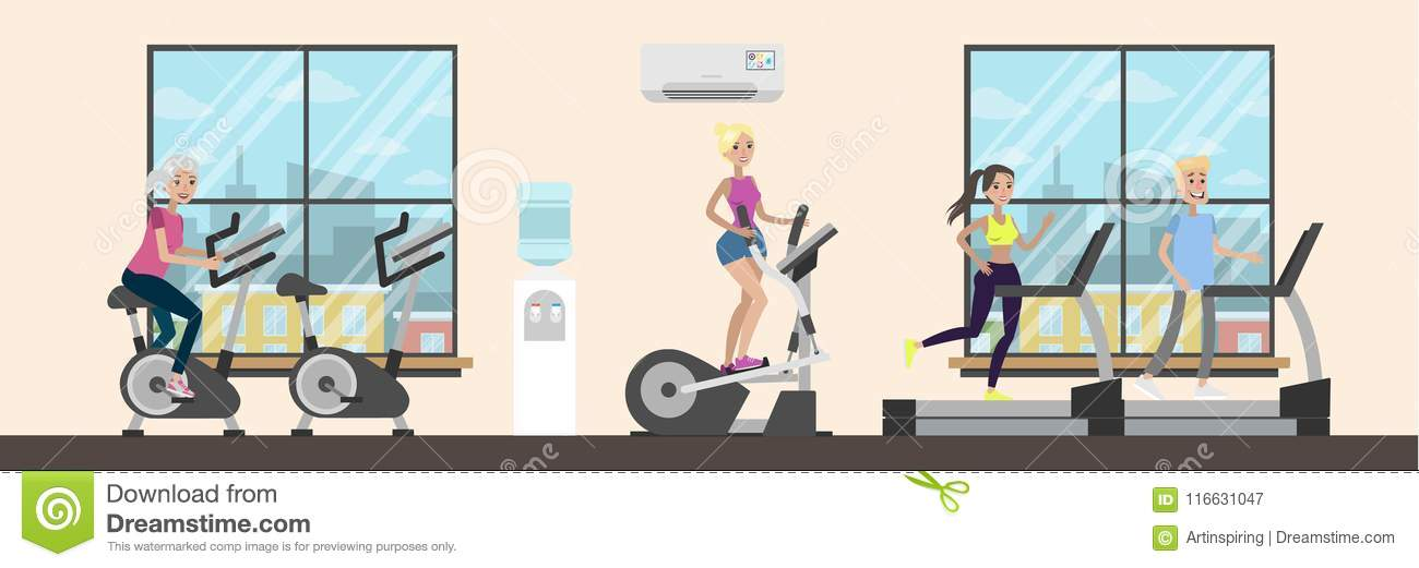 D cartoon gym effect pattern image png clip art and vector