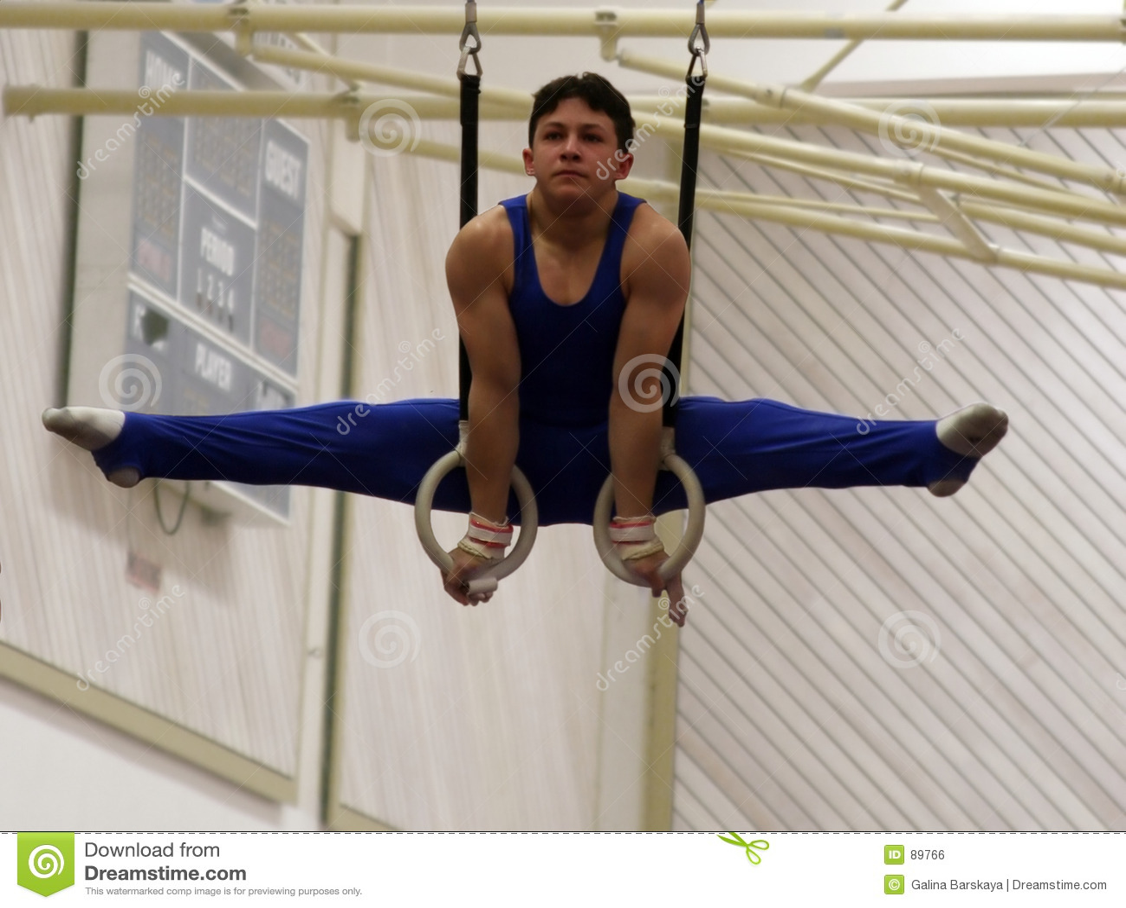 Gymnast δαχτυλίδια