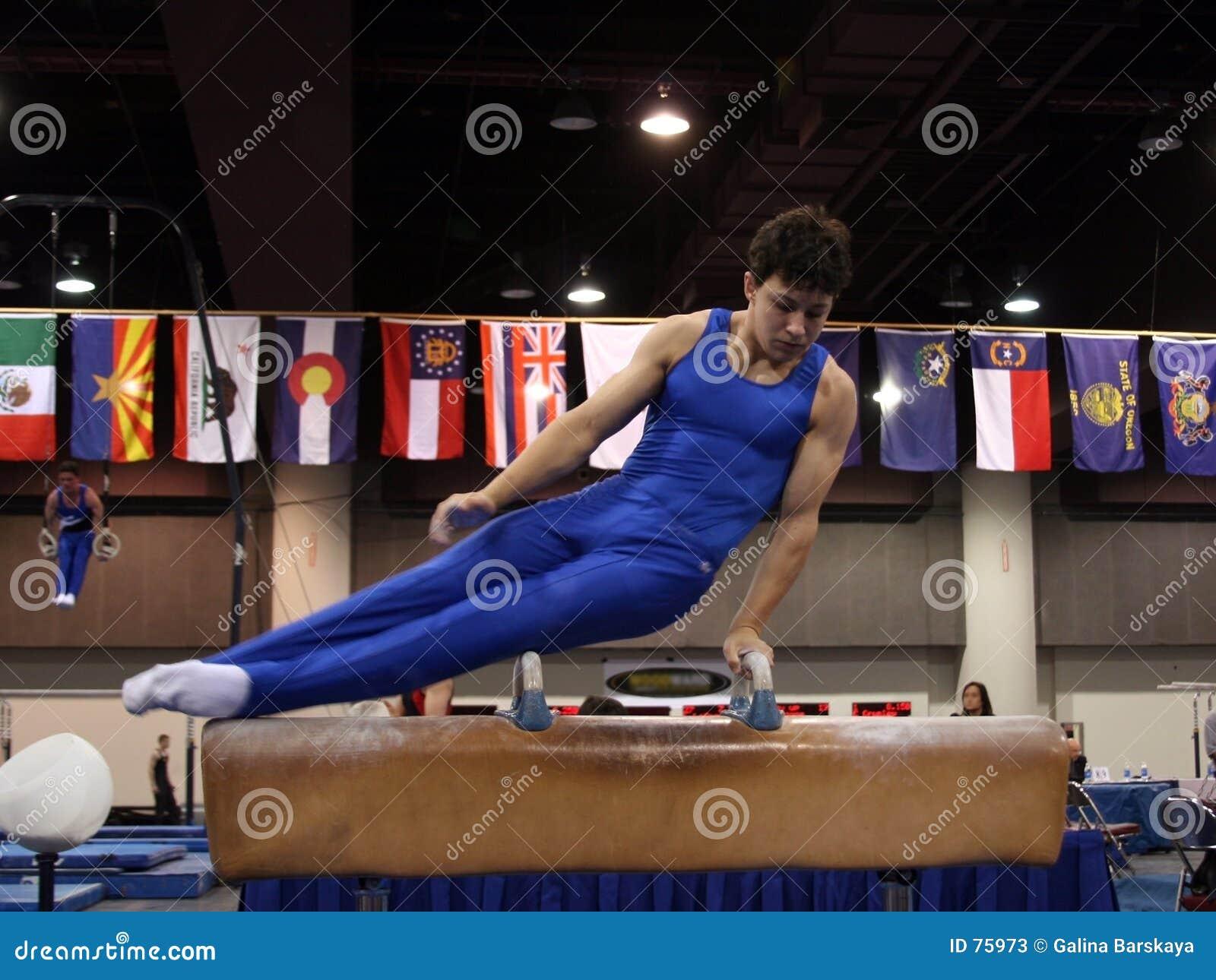 Gymnast λαβή ξίφους
