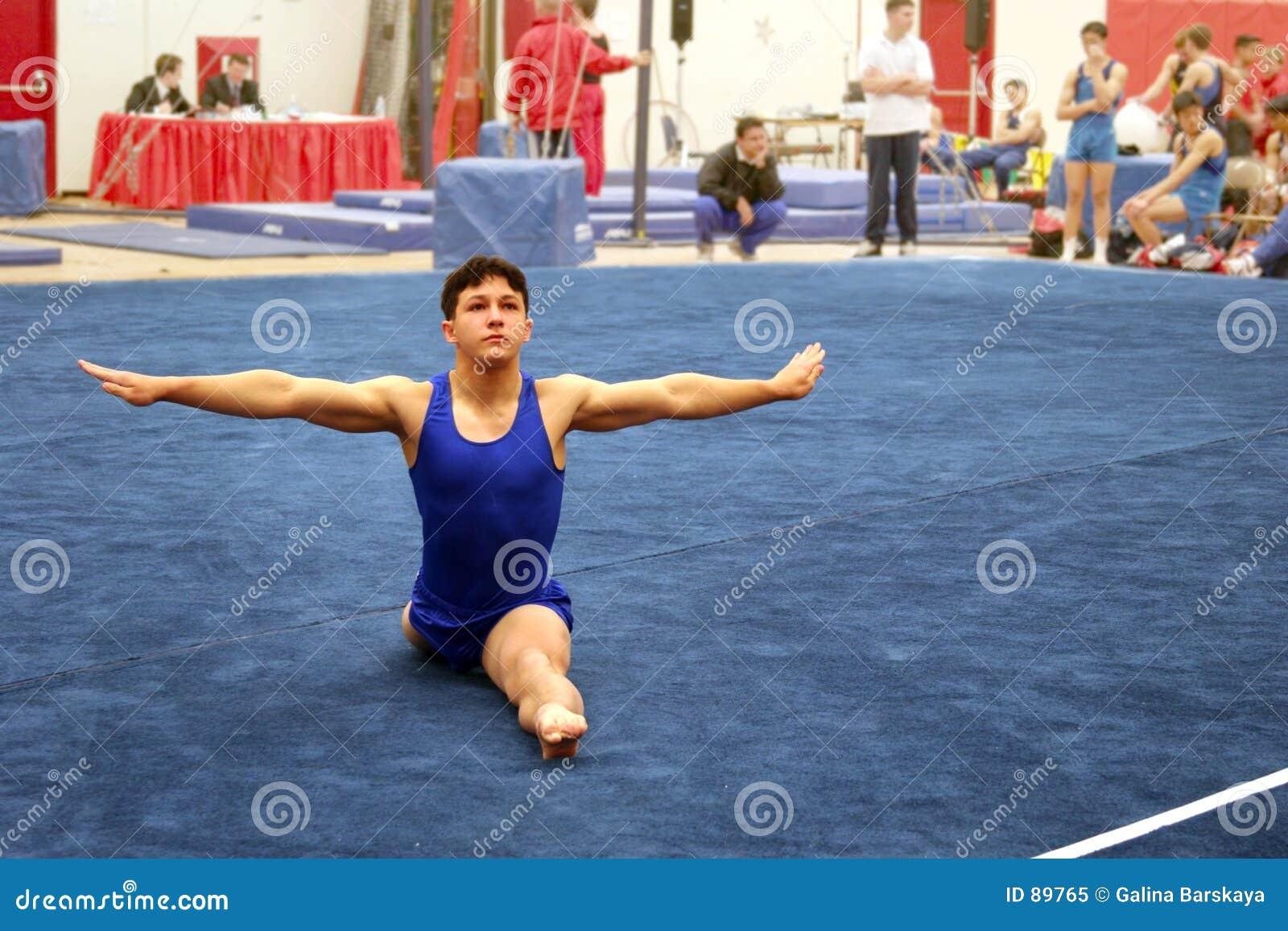 Gymnast πατωμάτων