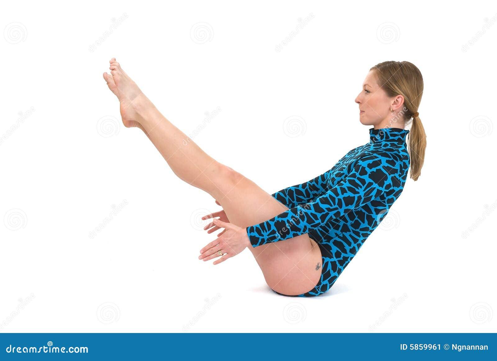gymnast sitting balance stock image image of artistic 5859961