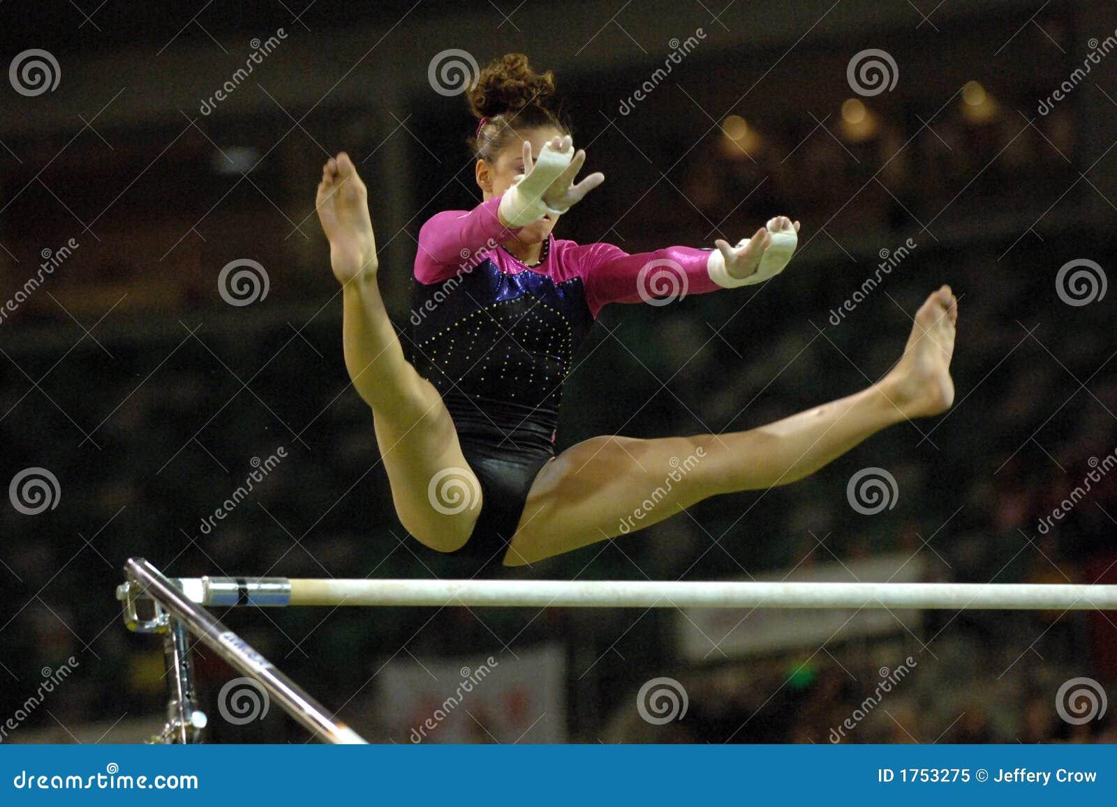 Uneven Bars Gymnastics Clip Art Gymnast Uneven Bars 00...