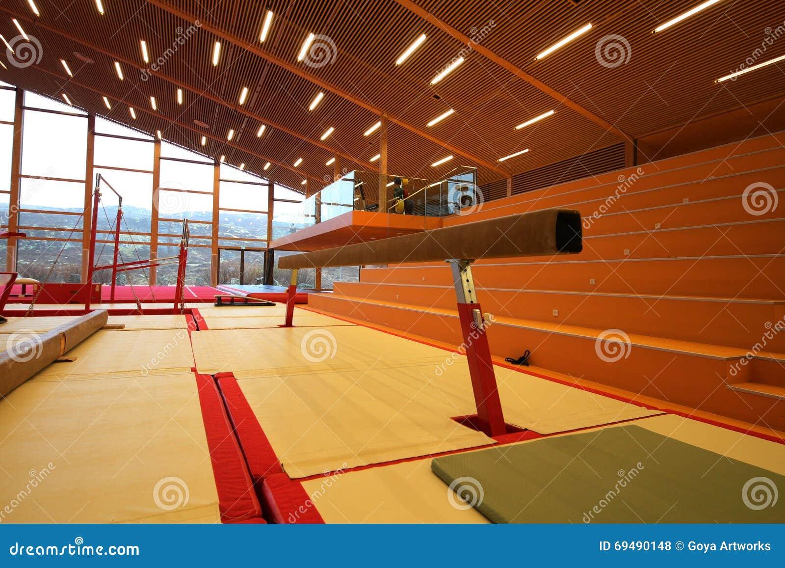 Gymnastic Equipment Stock Photo Image Of Beam Strength
