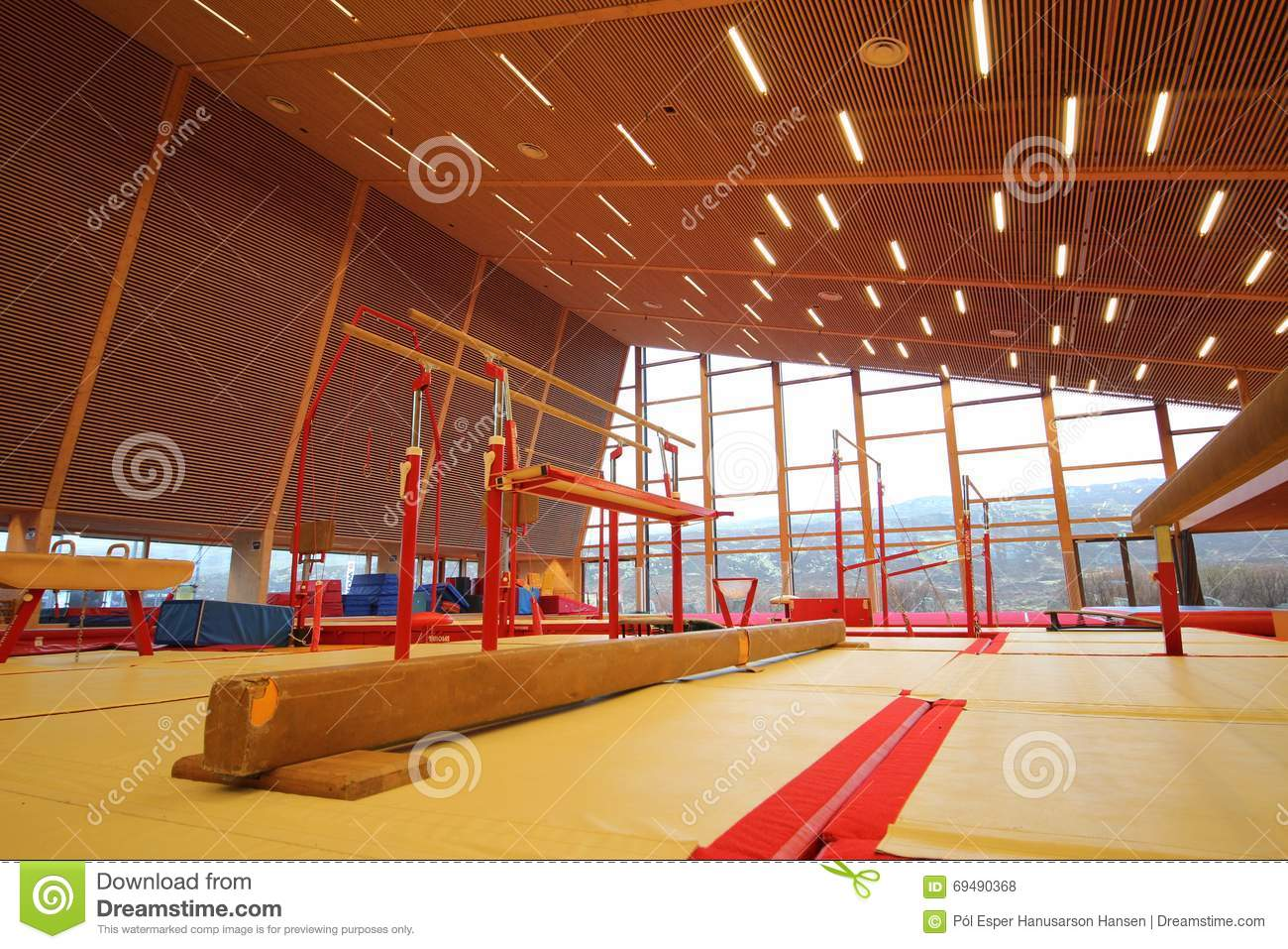Gymnastic Equipment Stock Photo Image Of Jump Strong