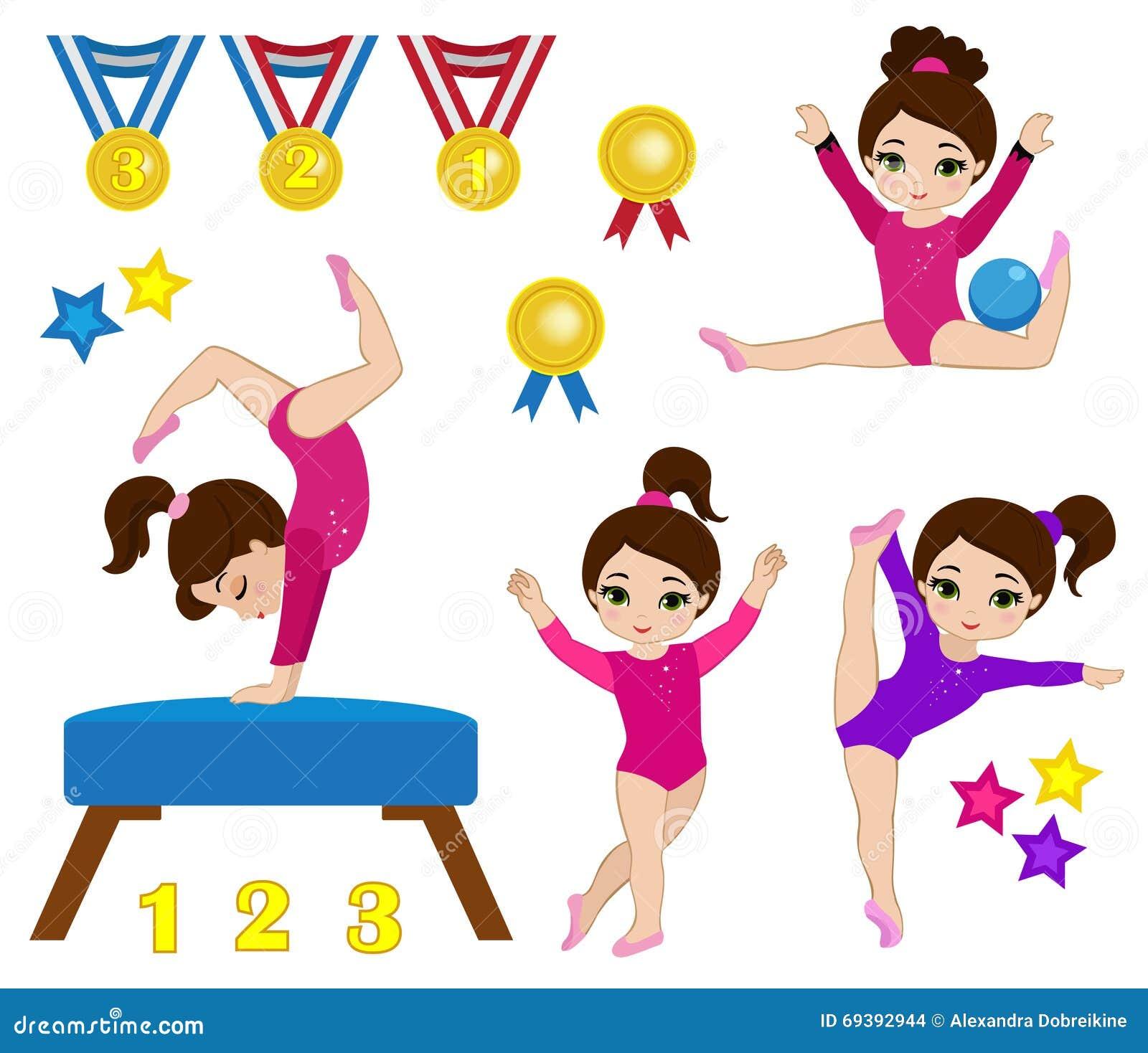 clip art gymnastics poses - photo #37