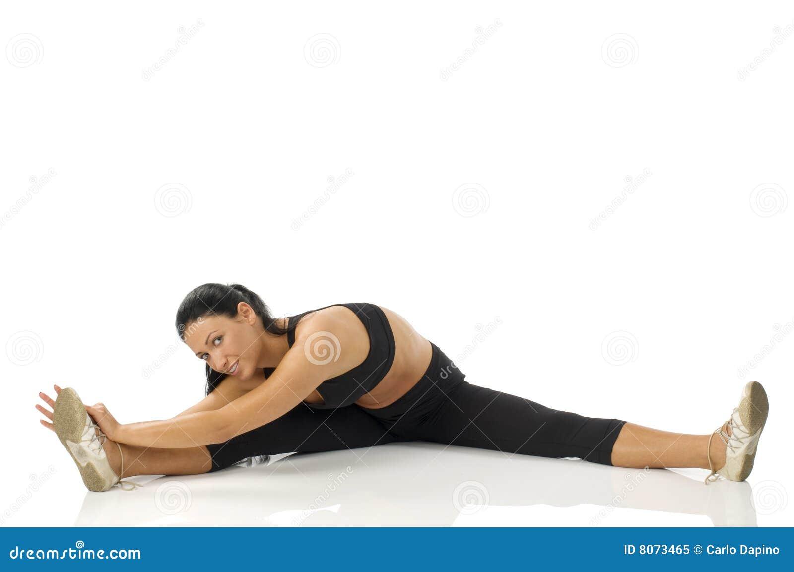 Gymnastiek- meisje