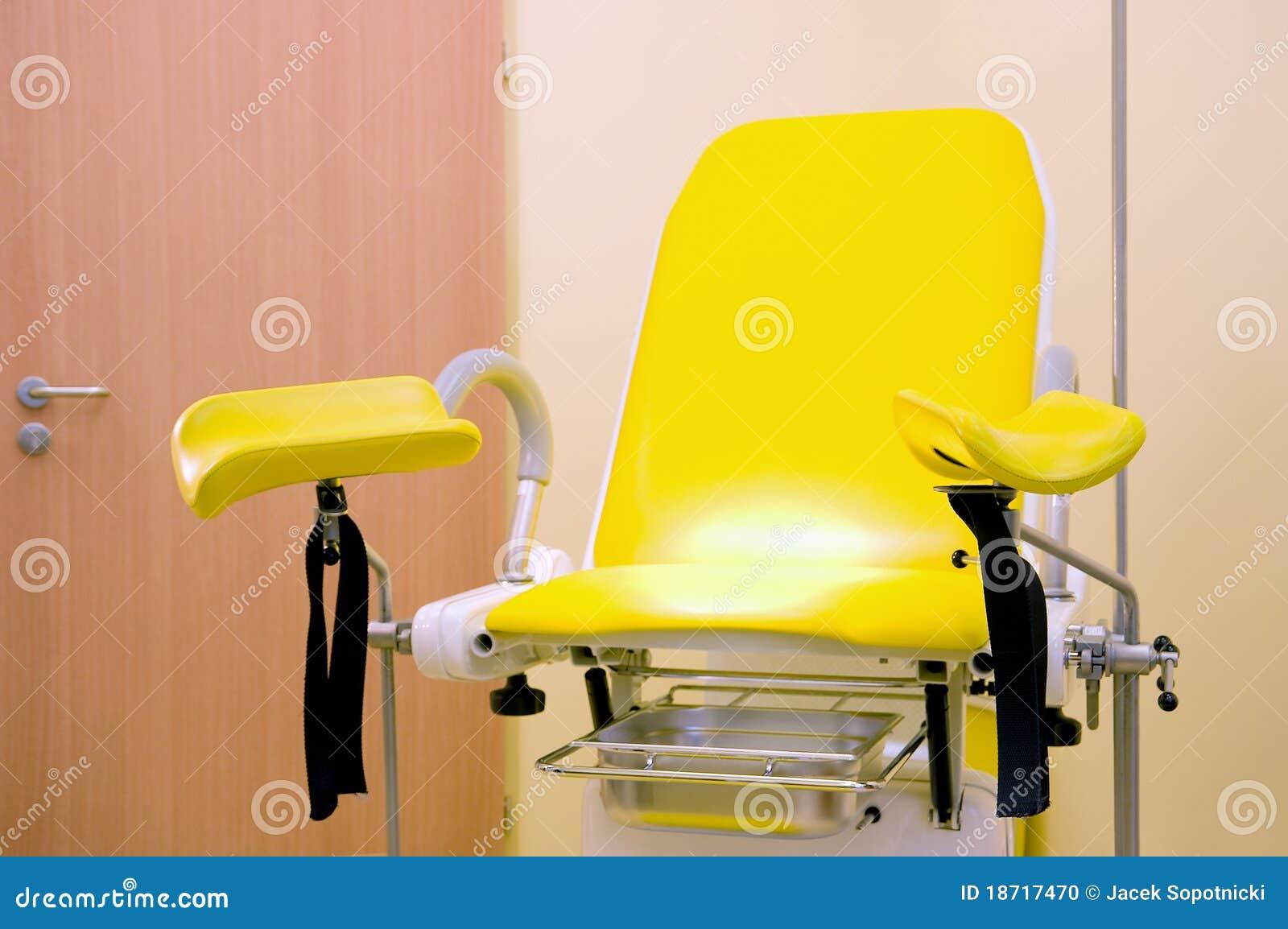 gyn kologischer stuhl stockfoto bild von schwangerschaft. Black Bedroom Furniture Sets. Home Design Ideas