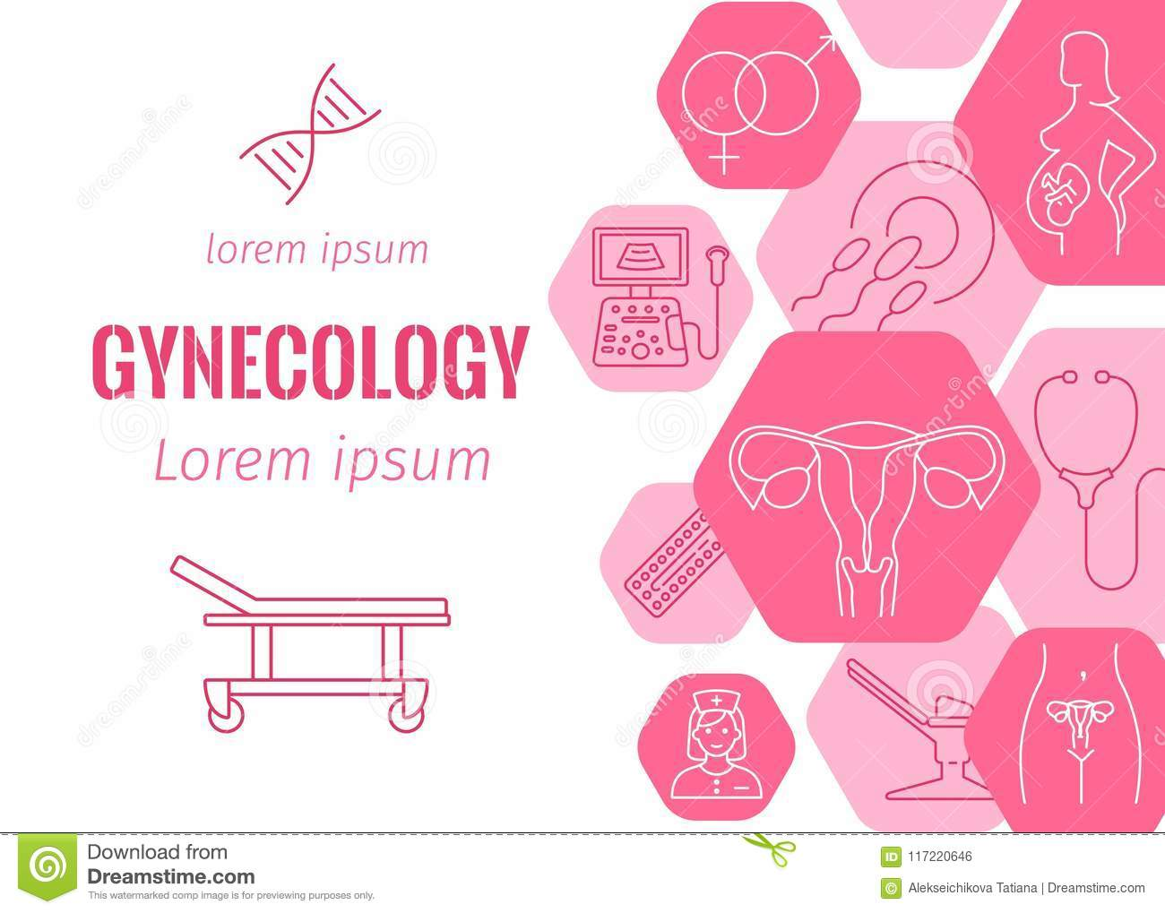 Equipment for obstetrics and gynecology: a selection of sites