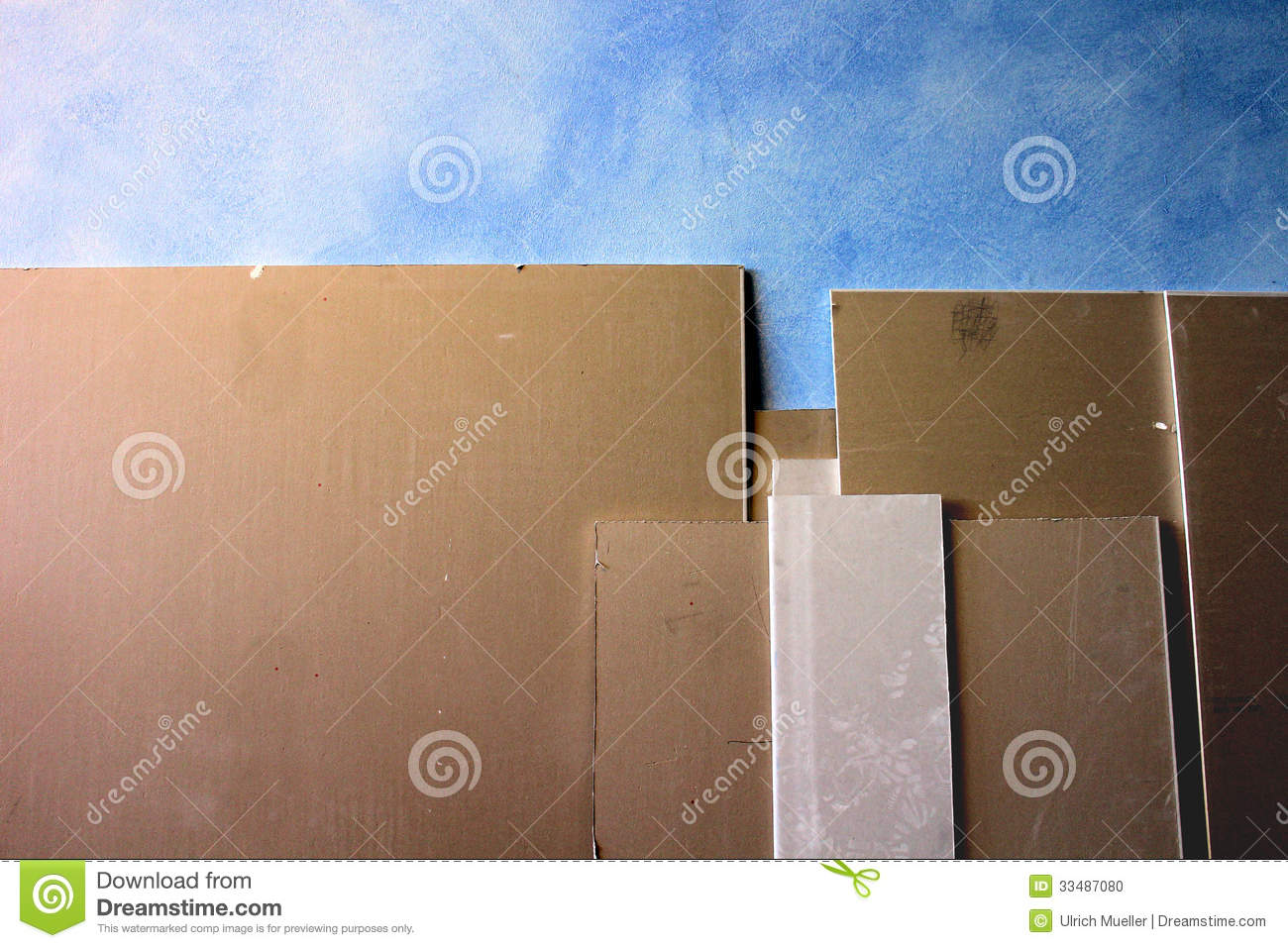 Plaster And Gypsum Board : Gypsum plaster board stock photo image