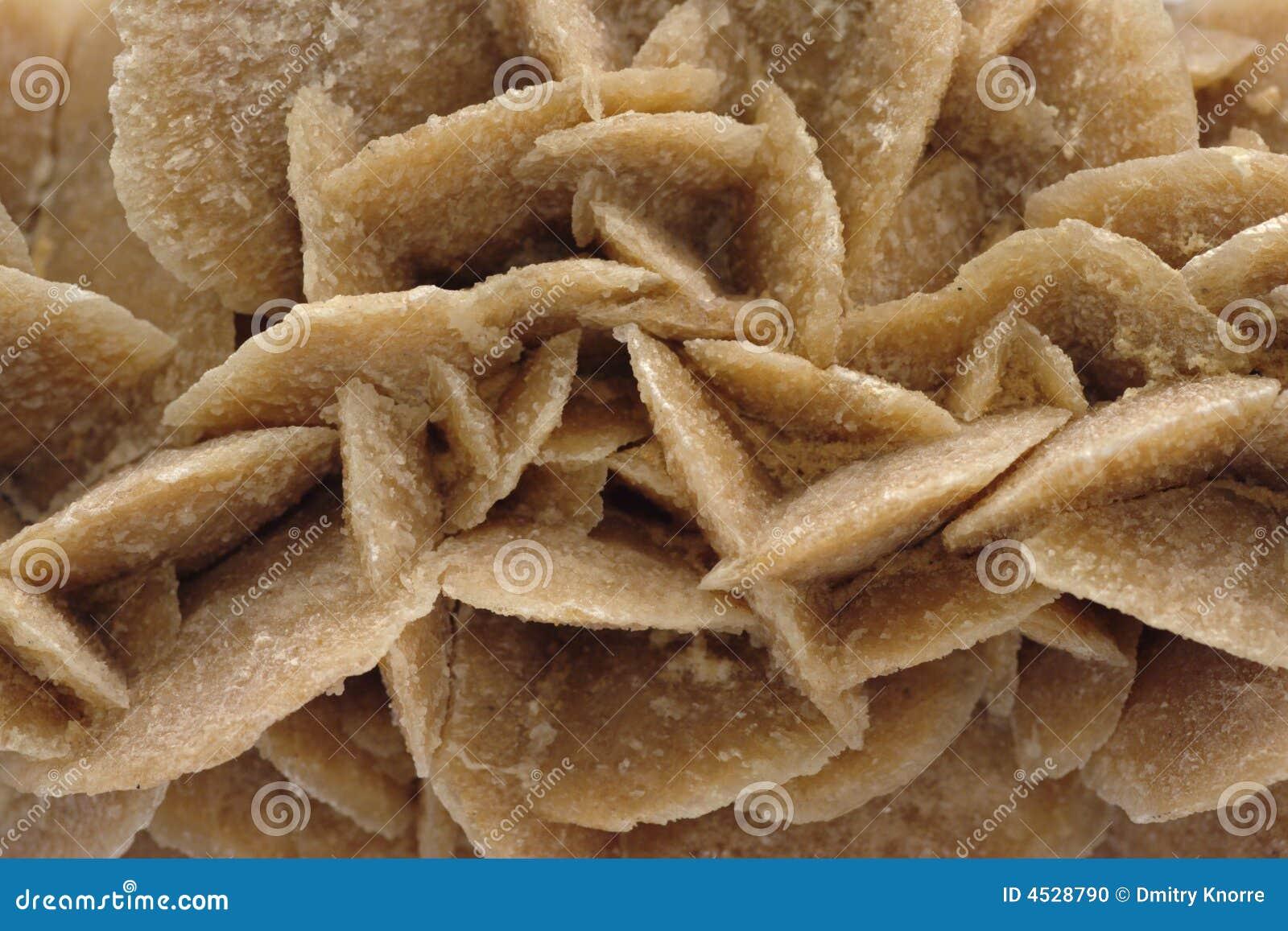 Gypsum (sand rose) texture