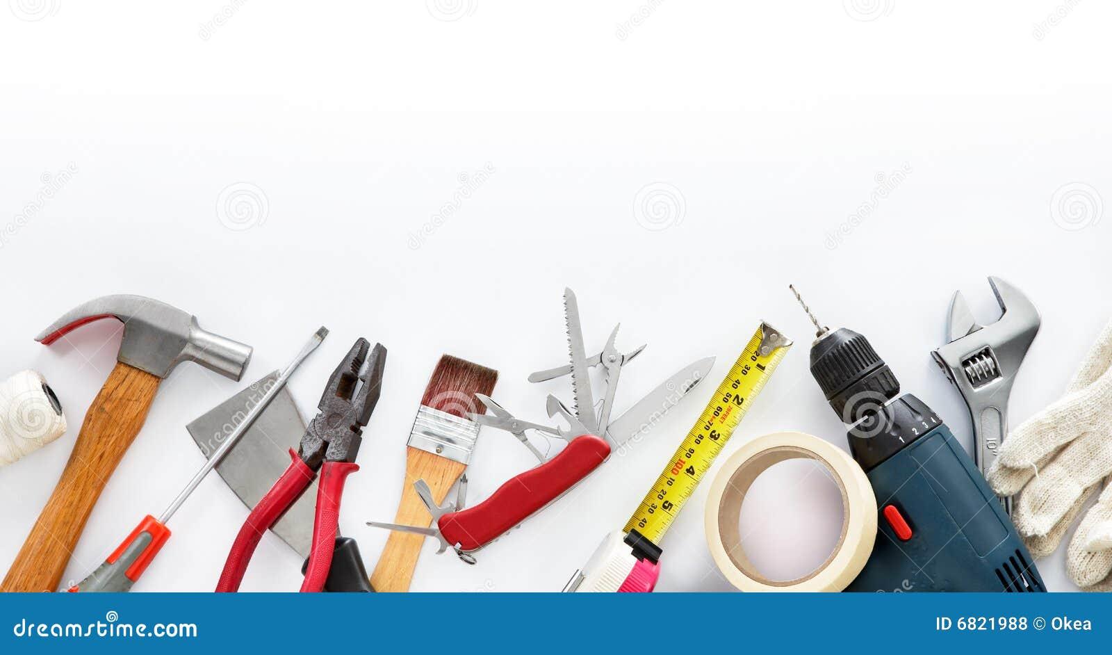 Hágalo usted mismo las herramientas