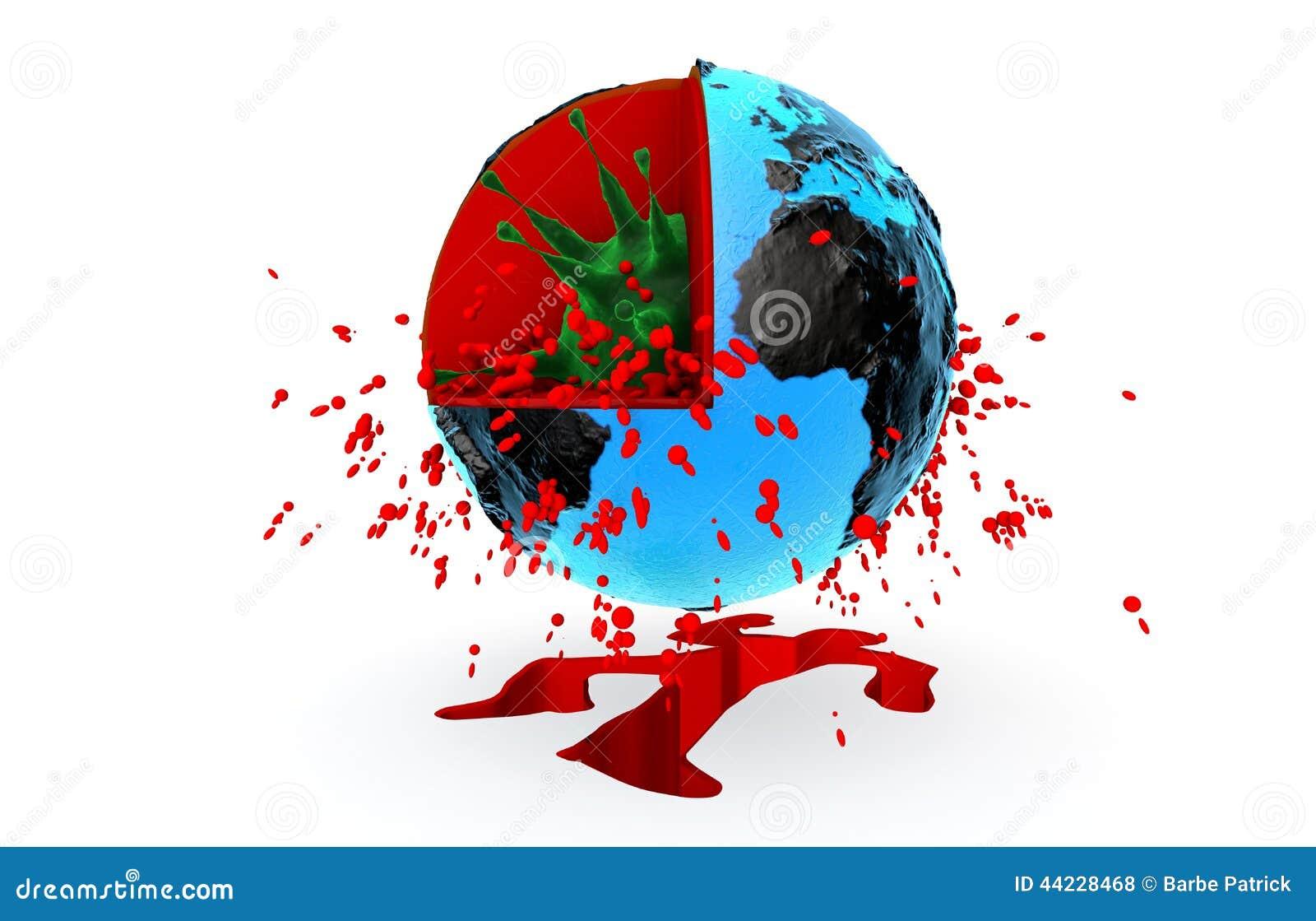 Hälsa pandemi, virus, ebola